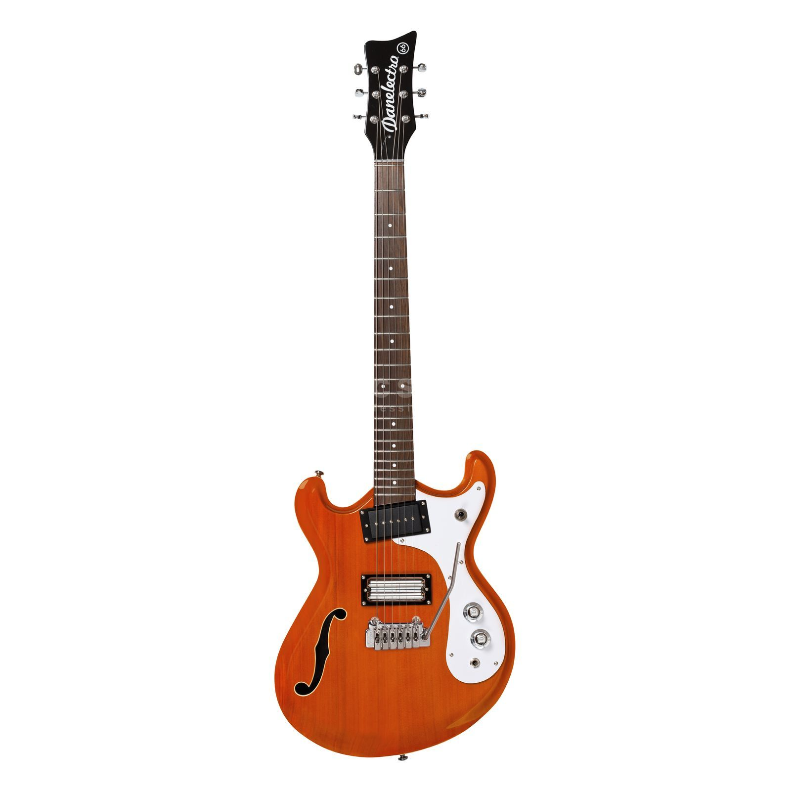 Danelectro 66T Transparent Orange Produktbild