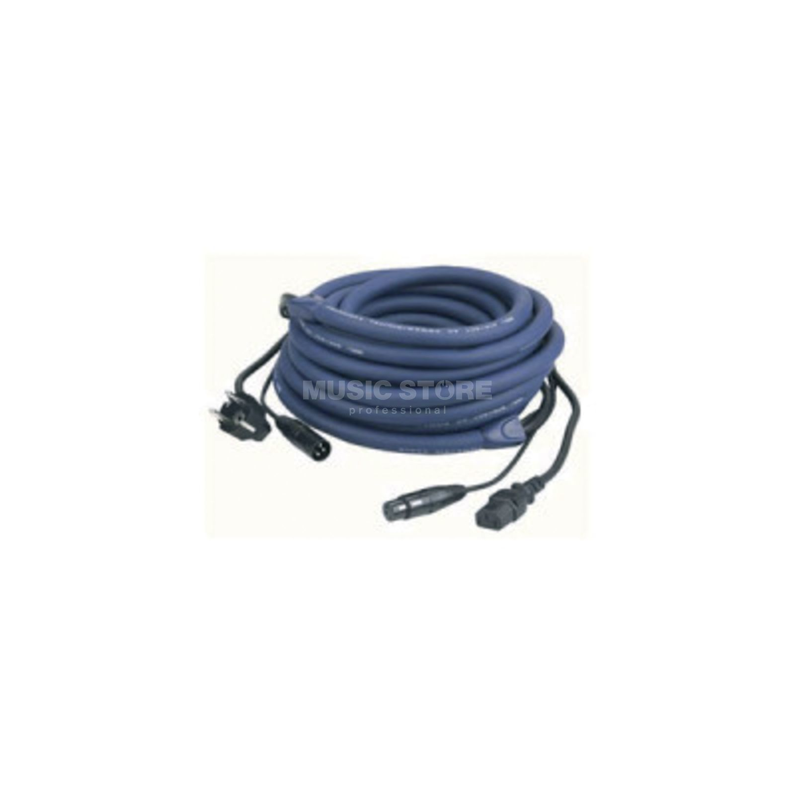 DAP Audio FP04 Power/Signal Cable 20m Schuko-IEC / XLR-XLR LIGHT Produktbillede