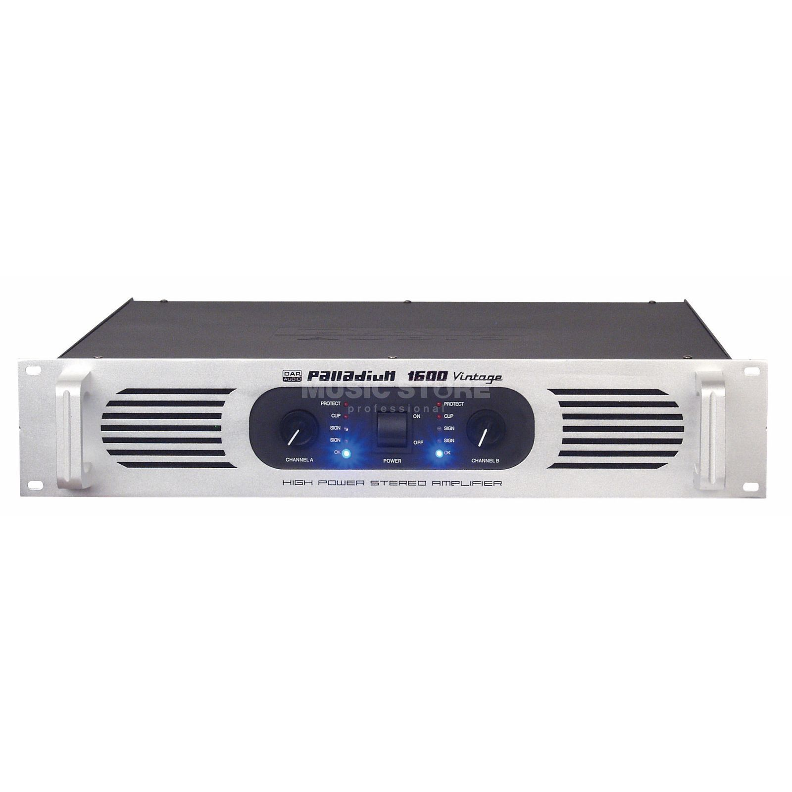 DAP Audio Palladium P-1600 2x 800 Watt/4 Ohm Amplifier Produktbillede