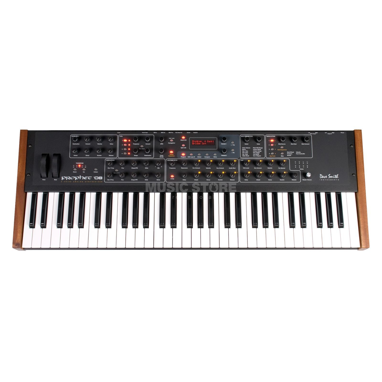 Dave Smith Instruments Prophet 08 PE Keyboard Analog Synthesizer Produktbild