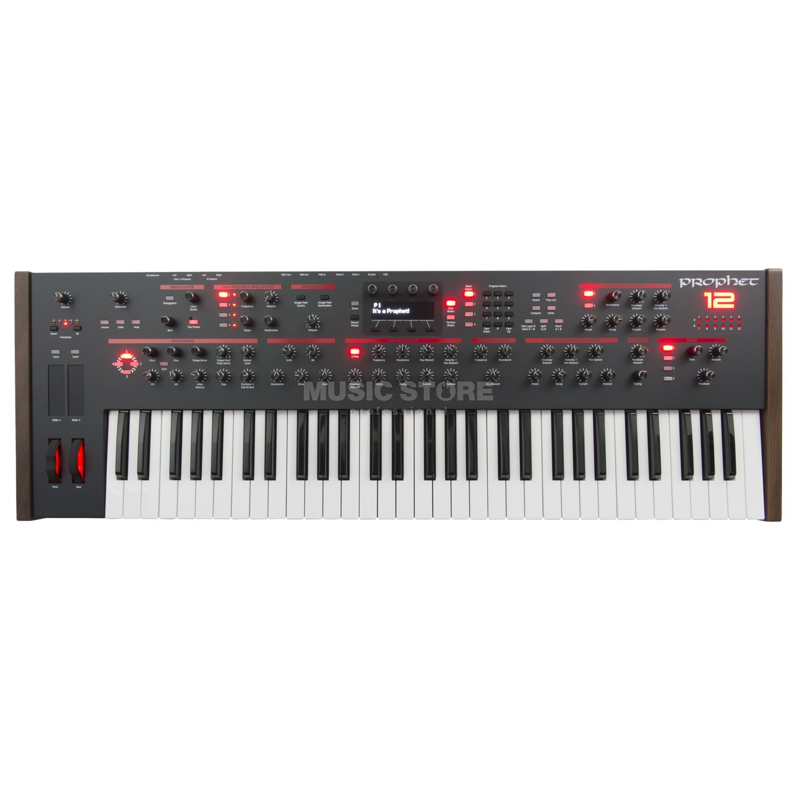 Dave Smith Instruments Prophet 12 Analog Synthesizer Produktbillede