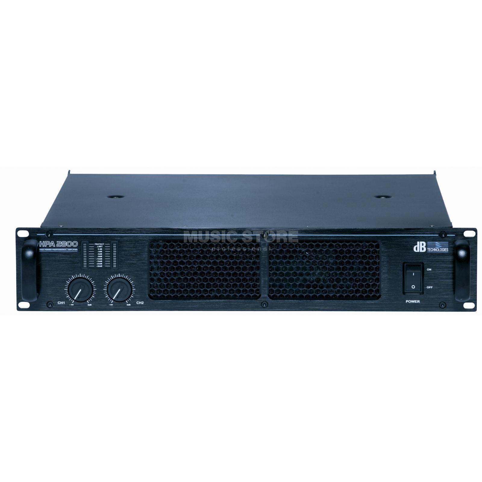 db technologies hpa 2800 ampli 2x 1050 watts 4 ohms. Black Bedroom Furniture Sets. Home Design Ideas