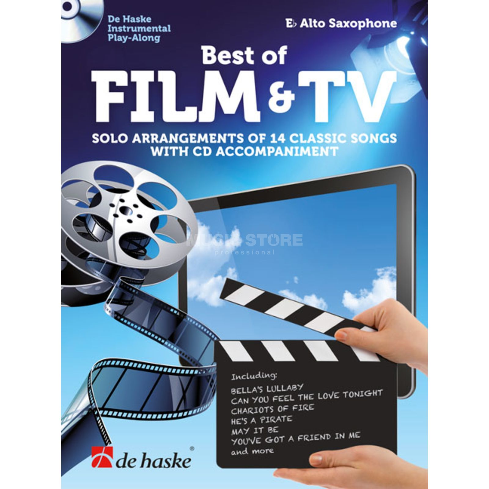 De Haske Best of Film & TV Alto Saxophone Produktbillede