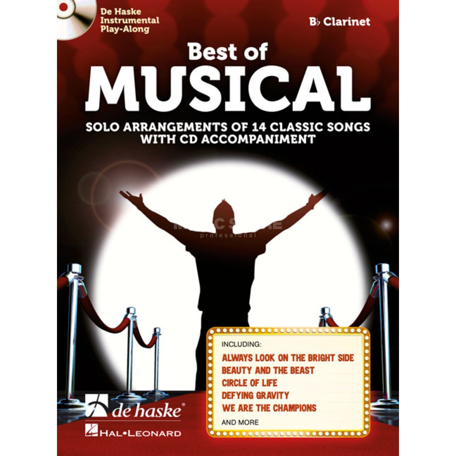 De Haske Best of Musical Clarinet Produktbillede