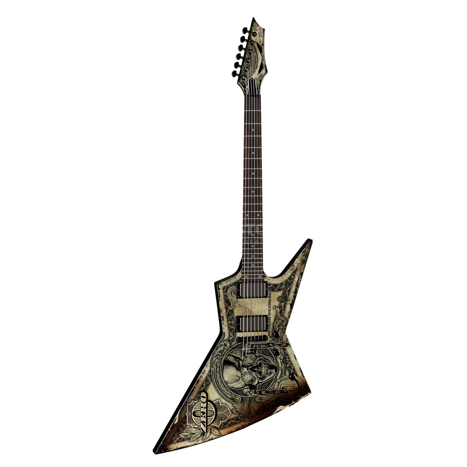 Dean Guitars Dave Mustaine Zero In Deth We Trust Produktbillede