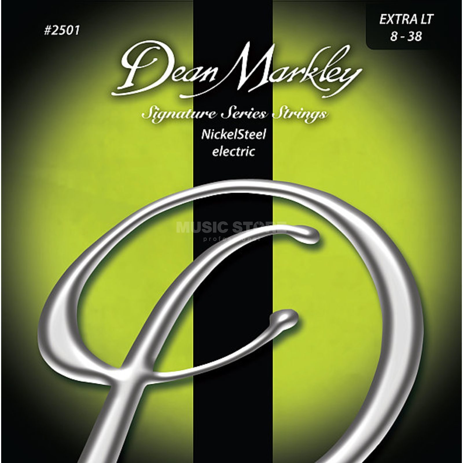 Dean Markley E-Guit. Strings 08-38 2501B XL Nickel Steel Produktbillede