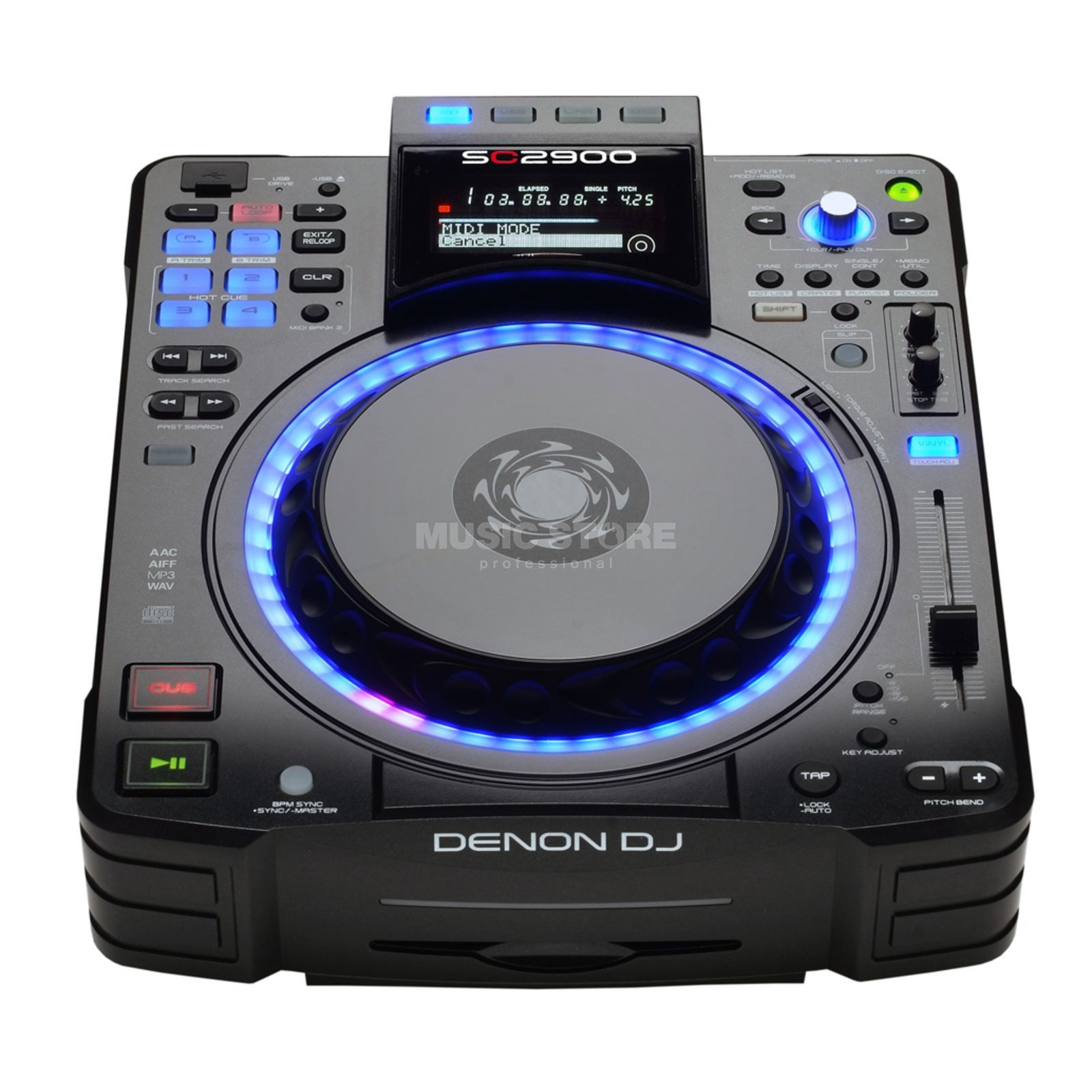 Denon DJ DN-SC2900 Controller & Media Player Productafbeelding