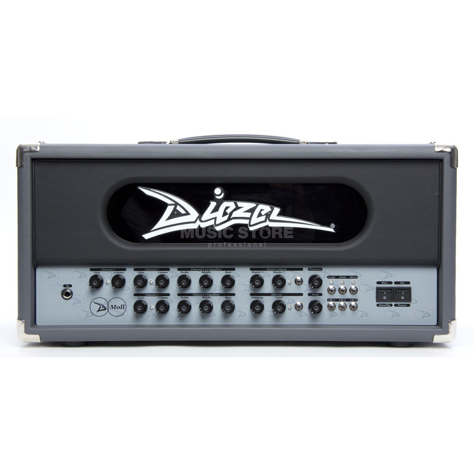 Diezel Amplification D-Moll 100 Head  Produktbillede