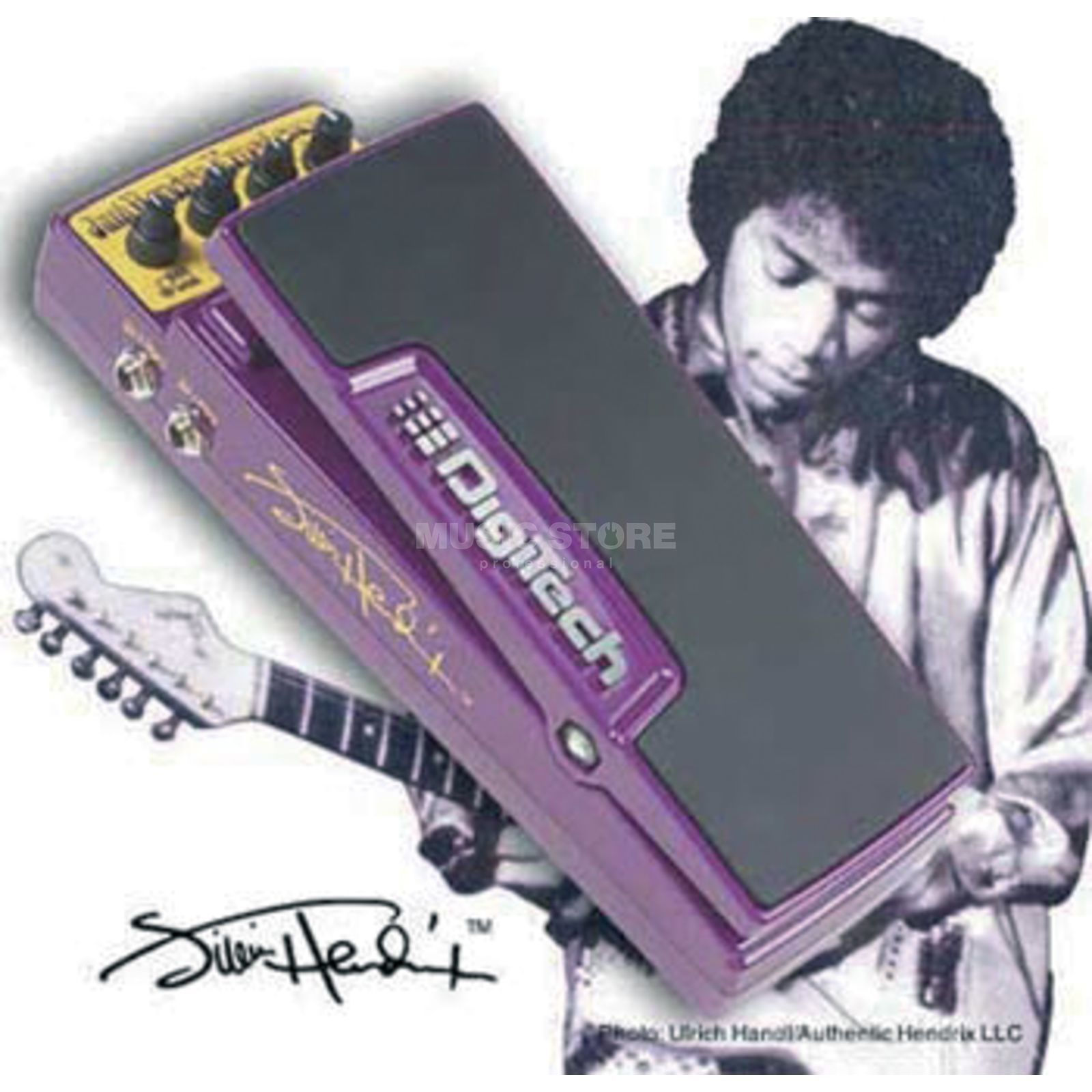 DigiTech Jimi Hendrix Experience Pedal  incl. Power Supply, Bag Produktbillede
