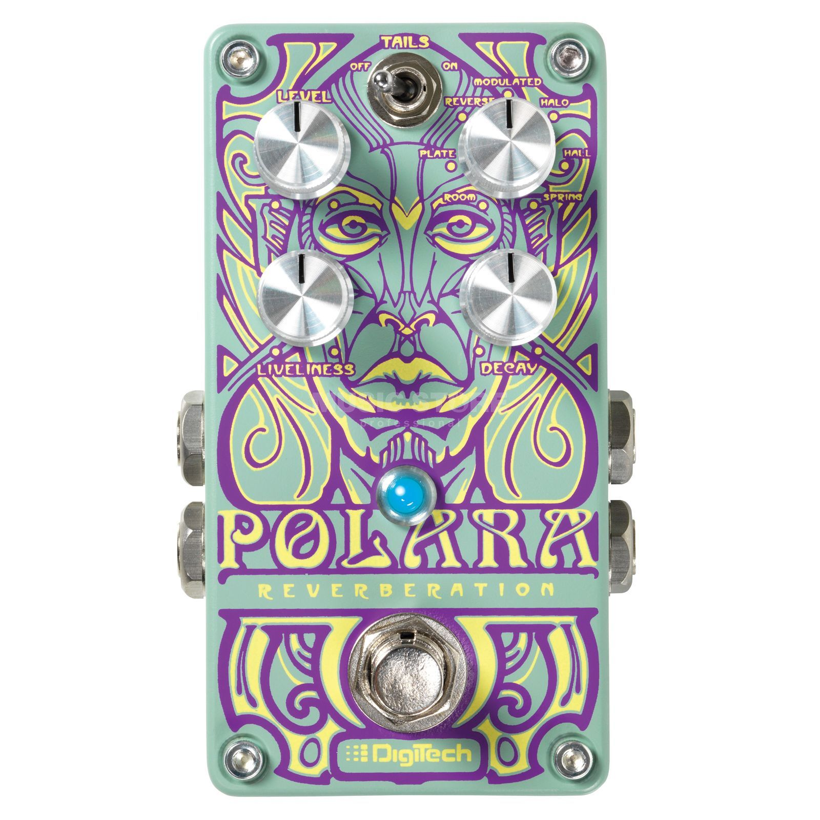 DigiTech Polara Stereo Reverb Pedal Product Image