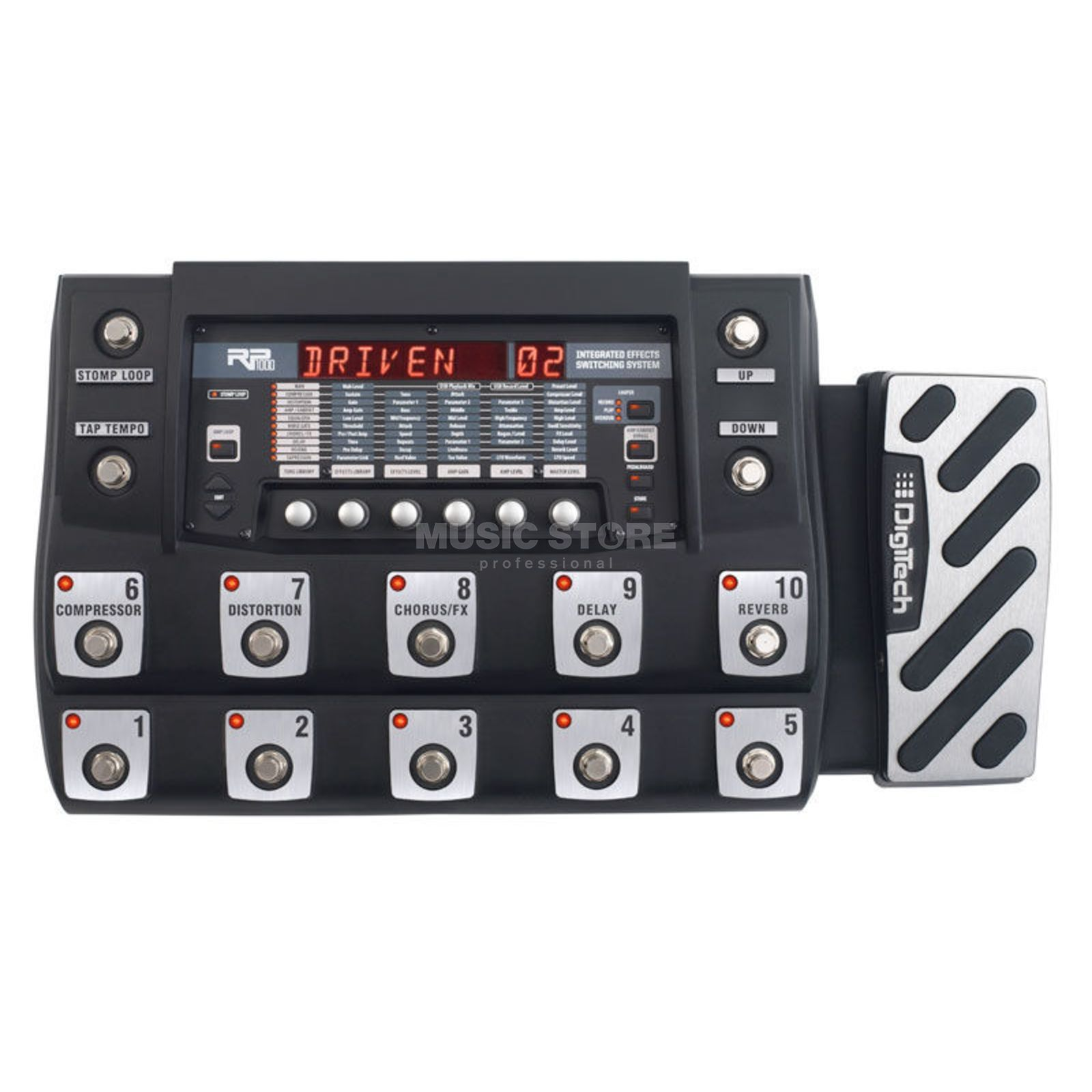 DigiTech RP1000 Guitar Multi-Effects Pr ocessor   Produktbillede