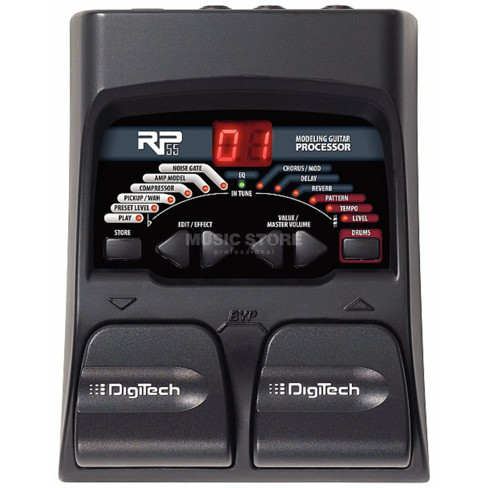 DigiTech RP55 Guitar Multi Effects Proc essor   Produktbillede