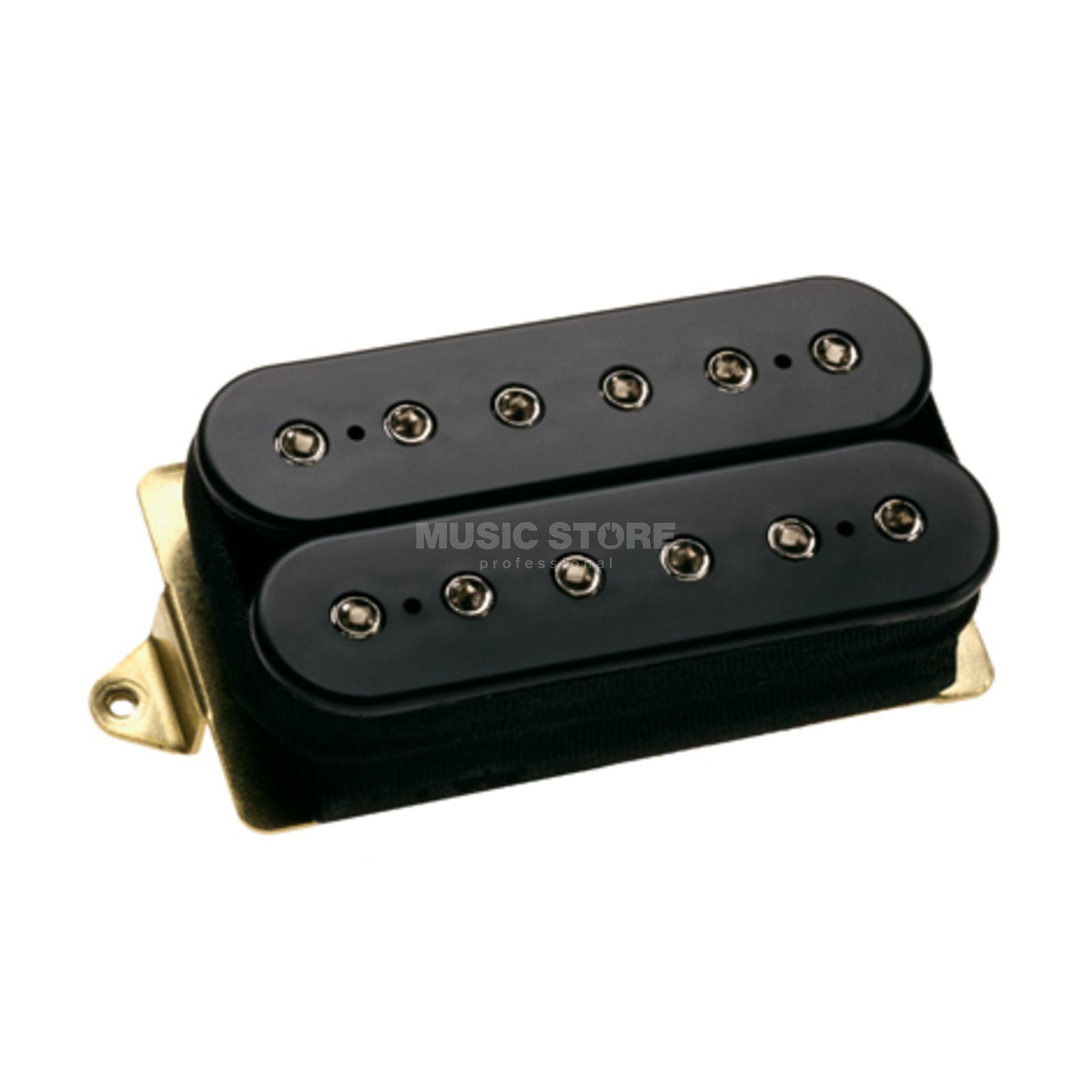 DiMarzio DP100 Super Distortion Humbuck er Pickup Black, F Spacing   Produktbillede