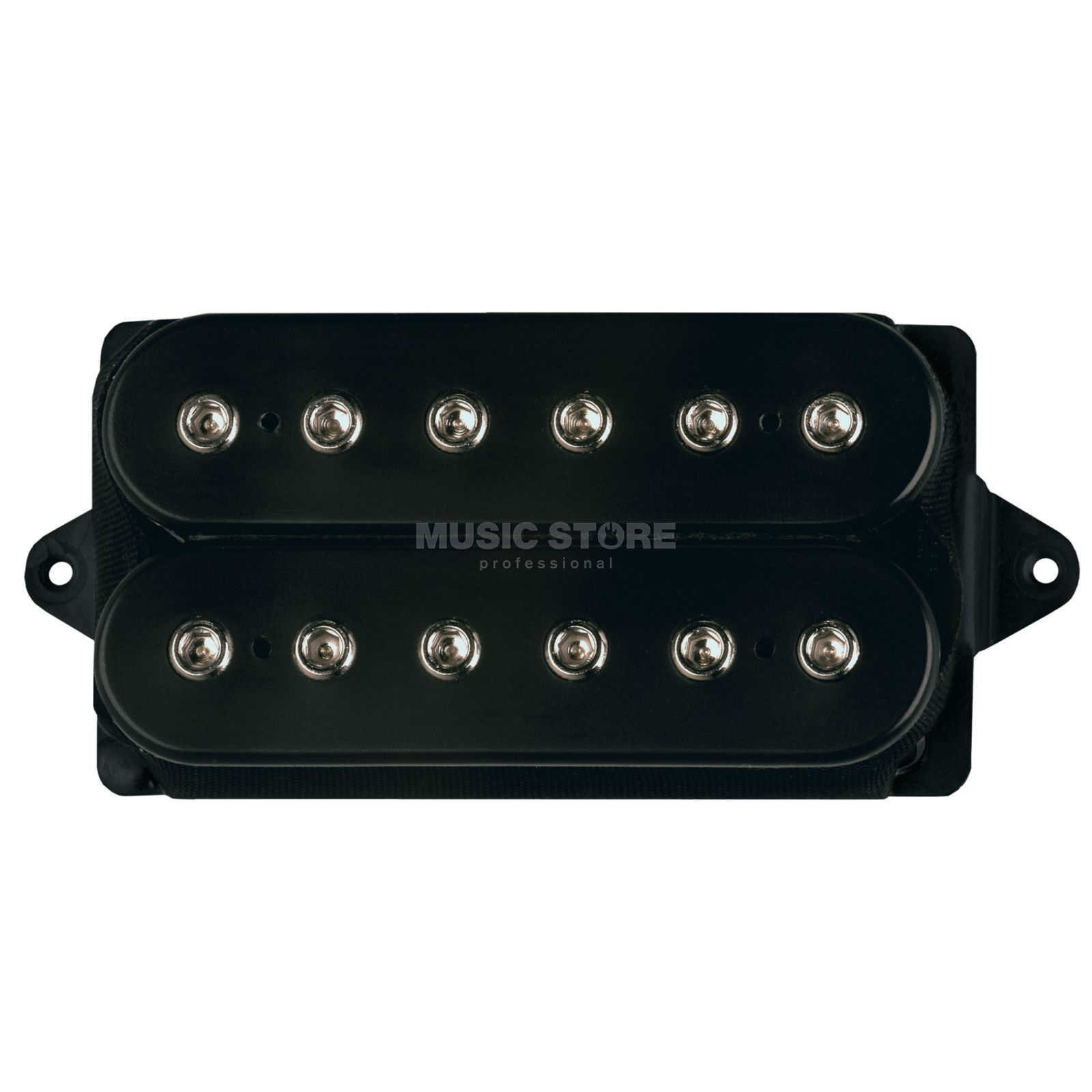 DiMarzio DP166F The Breed Bridge F-Spaced Black Produktbild