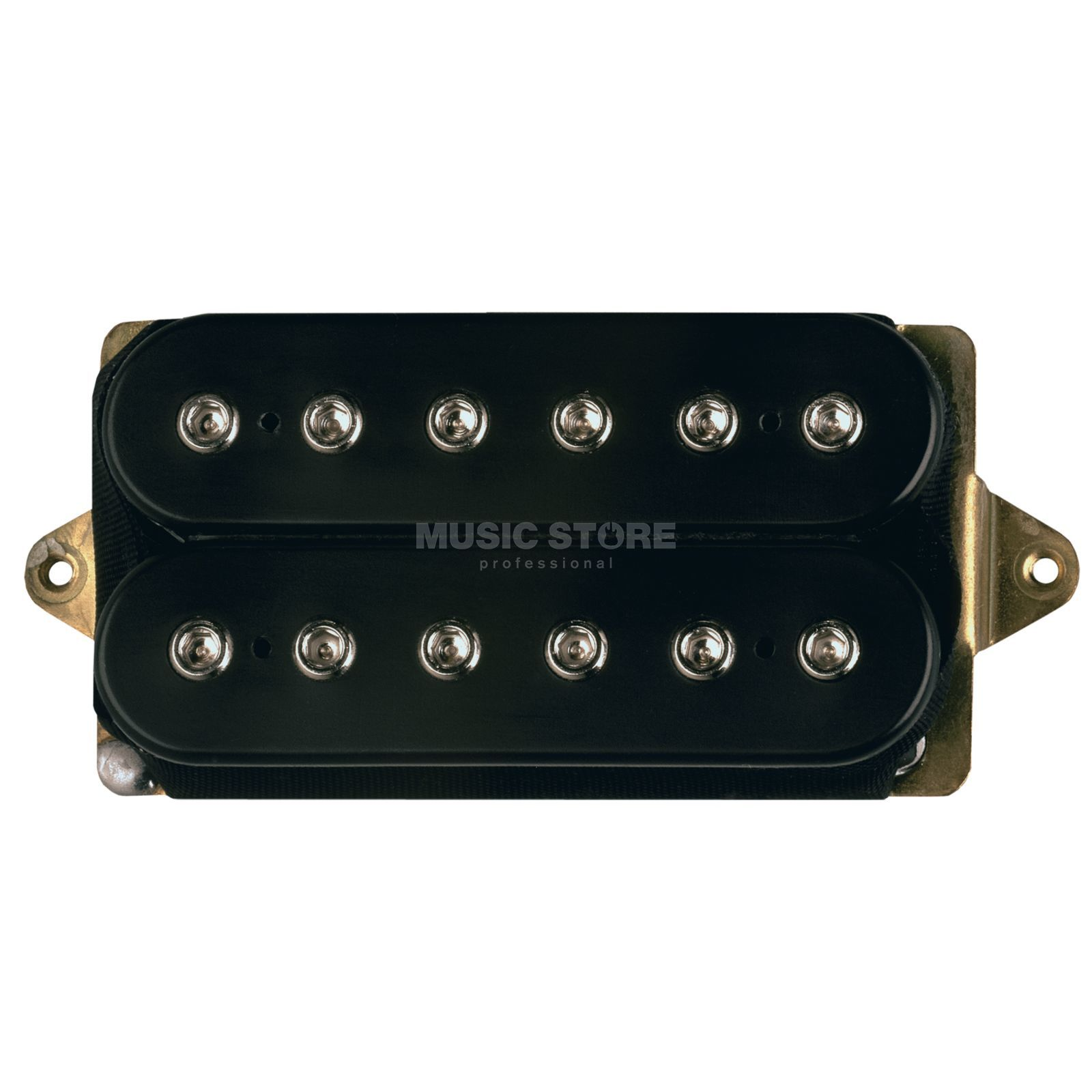 DiMarzio DP213F BK PAF Joe F- Spaced Neck/ Bridge Humbucker, Black Produktbillede
