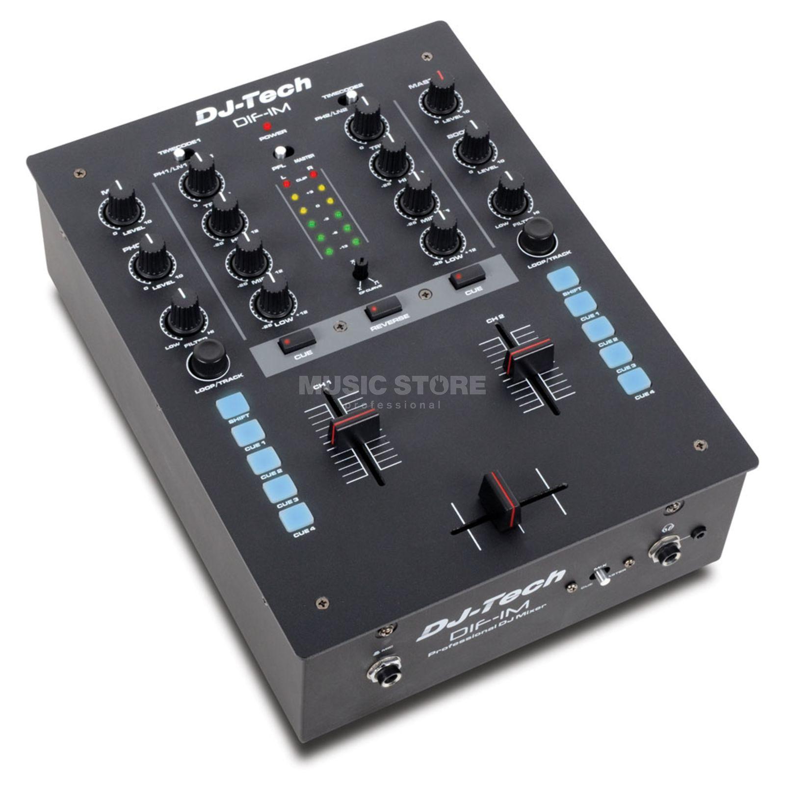 Dj tech dif 1m mesa de mezcla dj 2 canales con innofader - Mesa de mezclas 2 canales ...