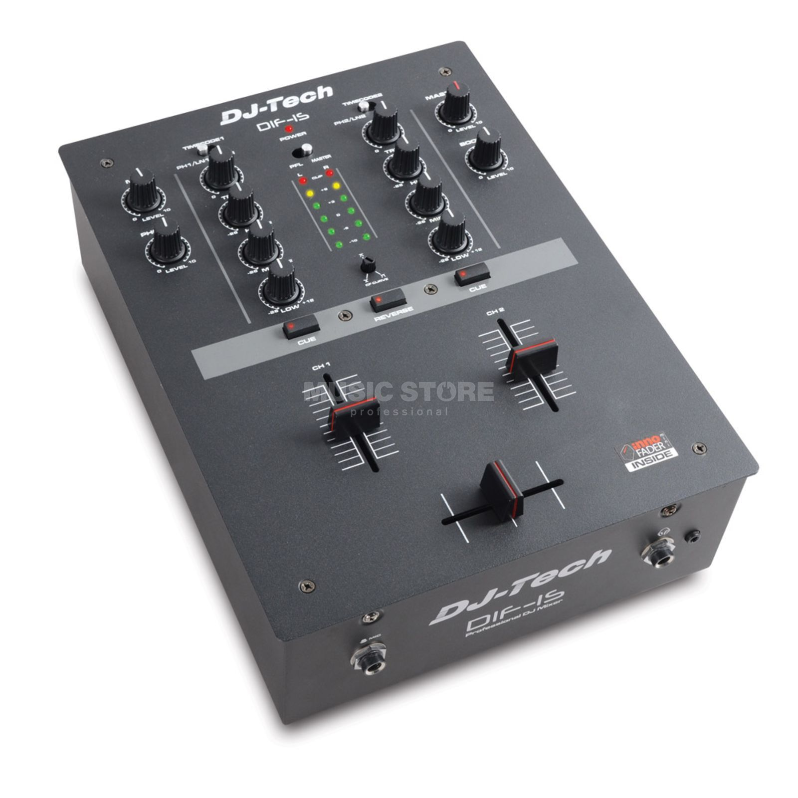 DJ-TECH DIF-1S 2-Channel DJ-Mixer with INNOfader Produktbillede