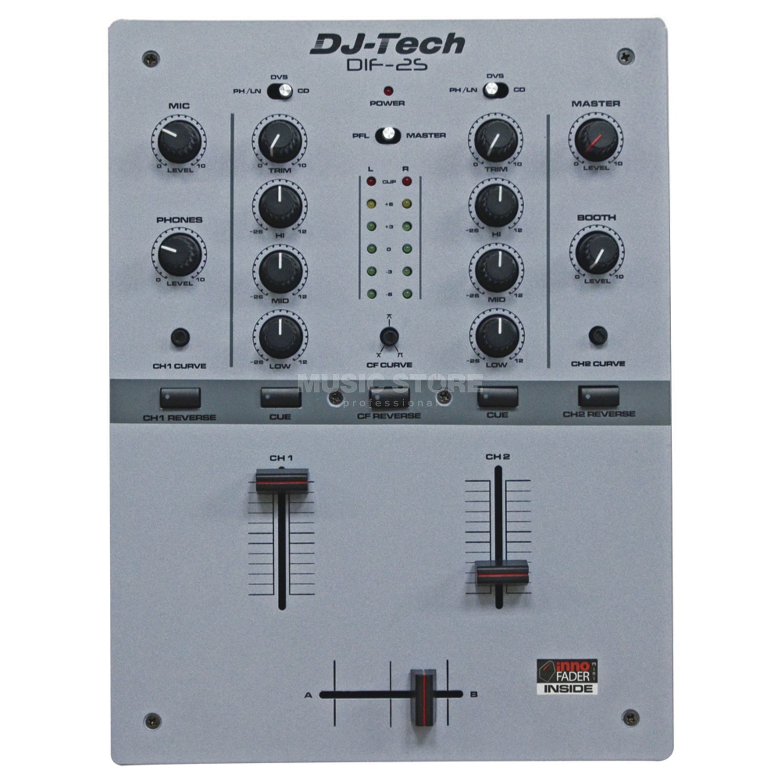 DJ-TECH DIF-2S Grey Produktbild