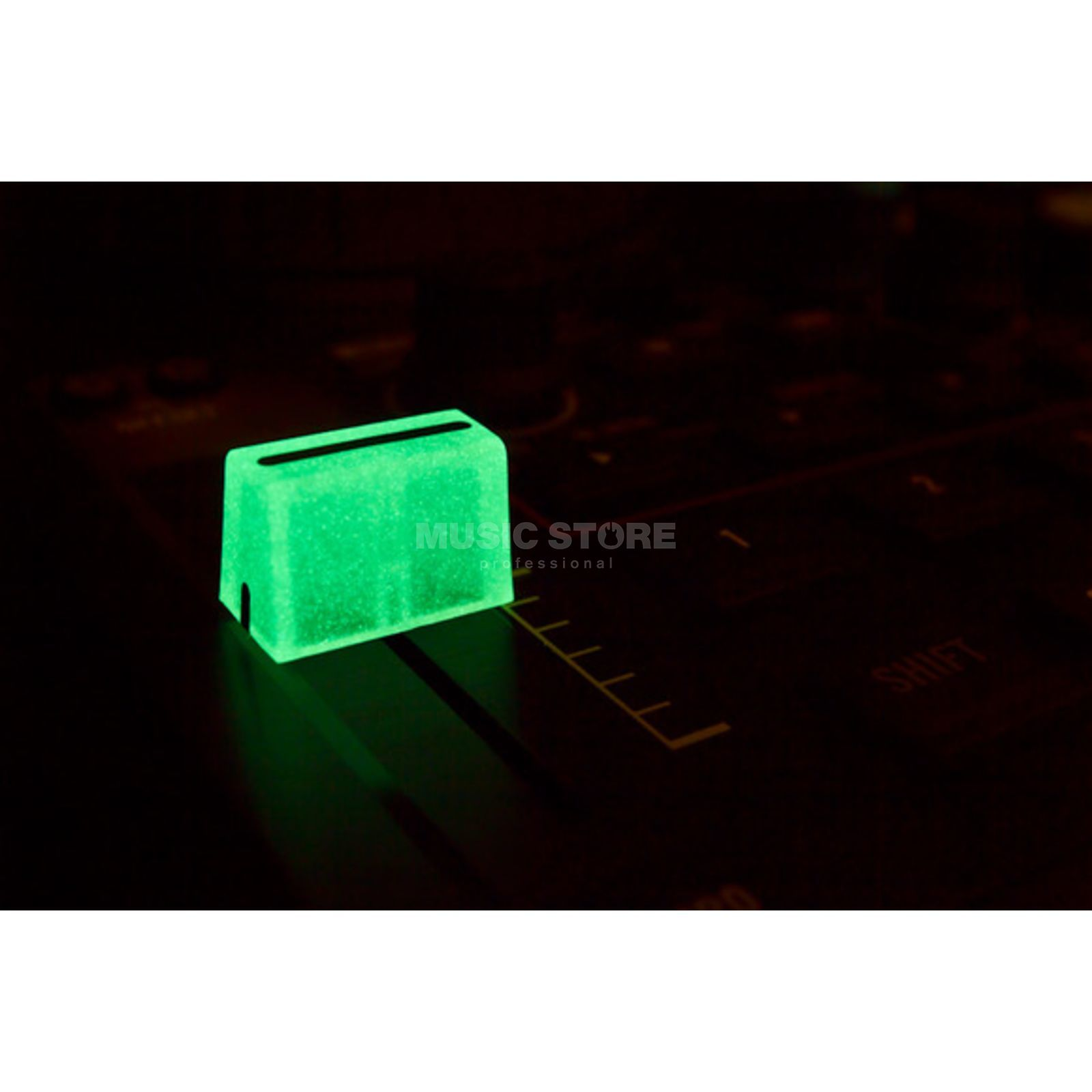 DJ TECHTOOLS Chroma Caps Fader Glow in the Dark Produktbillede
