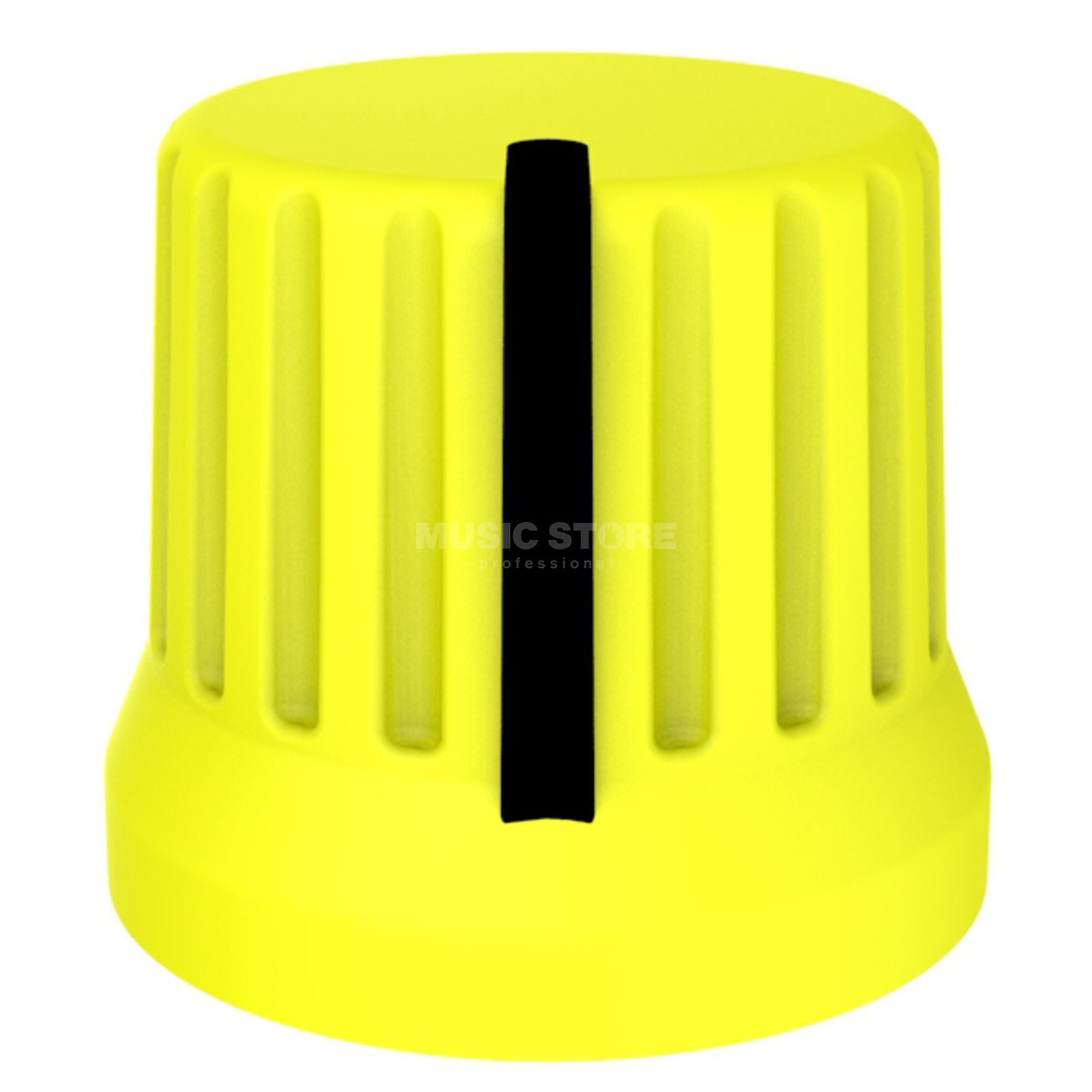DJ TECHTOOLS Chroma Caps Fatty Knob yellow  Product Image