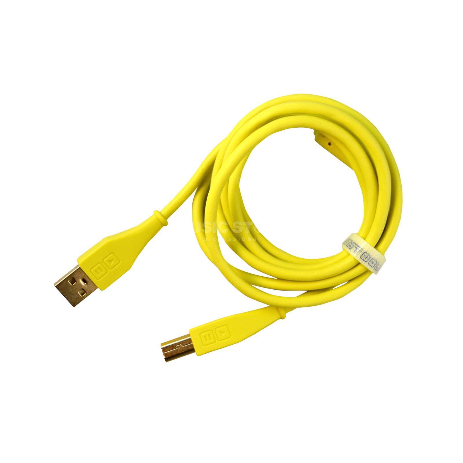 DJ TECHTOOLS DJTT USB Chroma Cable Green 1.5m, straight Produktbillede