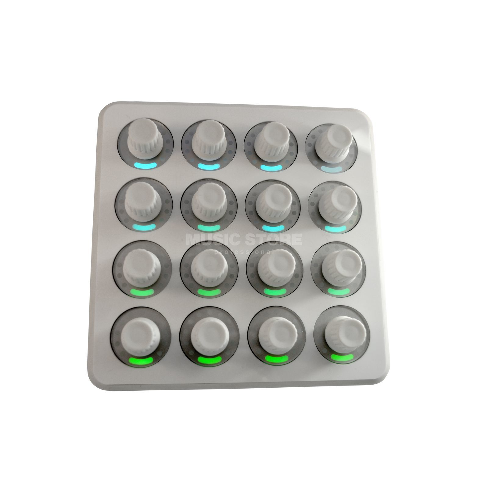 DJ TECHTOOLS Midi Fighter Twister White  Produktbild
