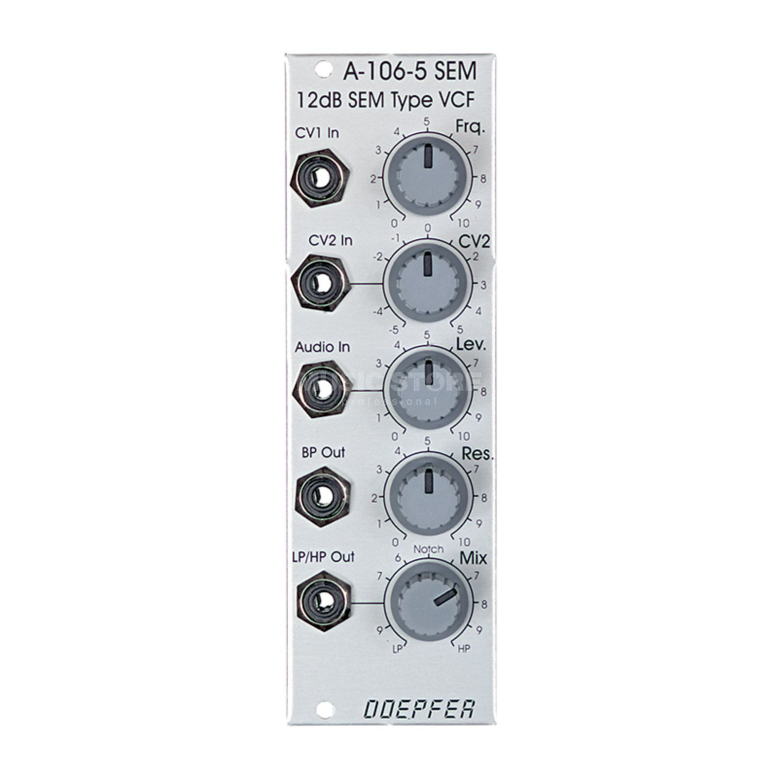 Doepfer A-106-5 12dB SEM Multimode-Filter Product Image