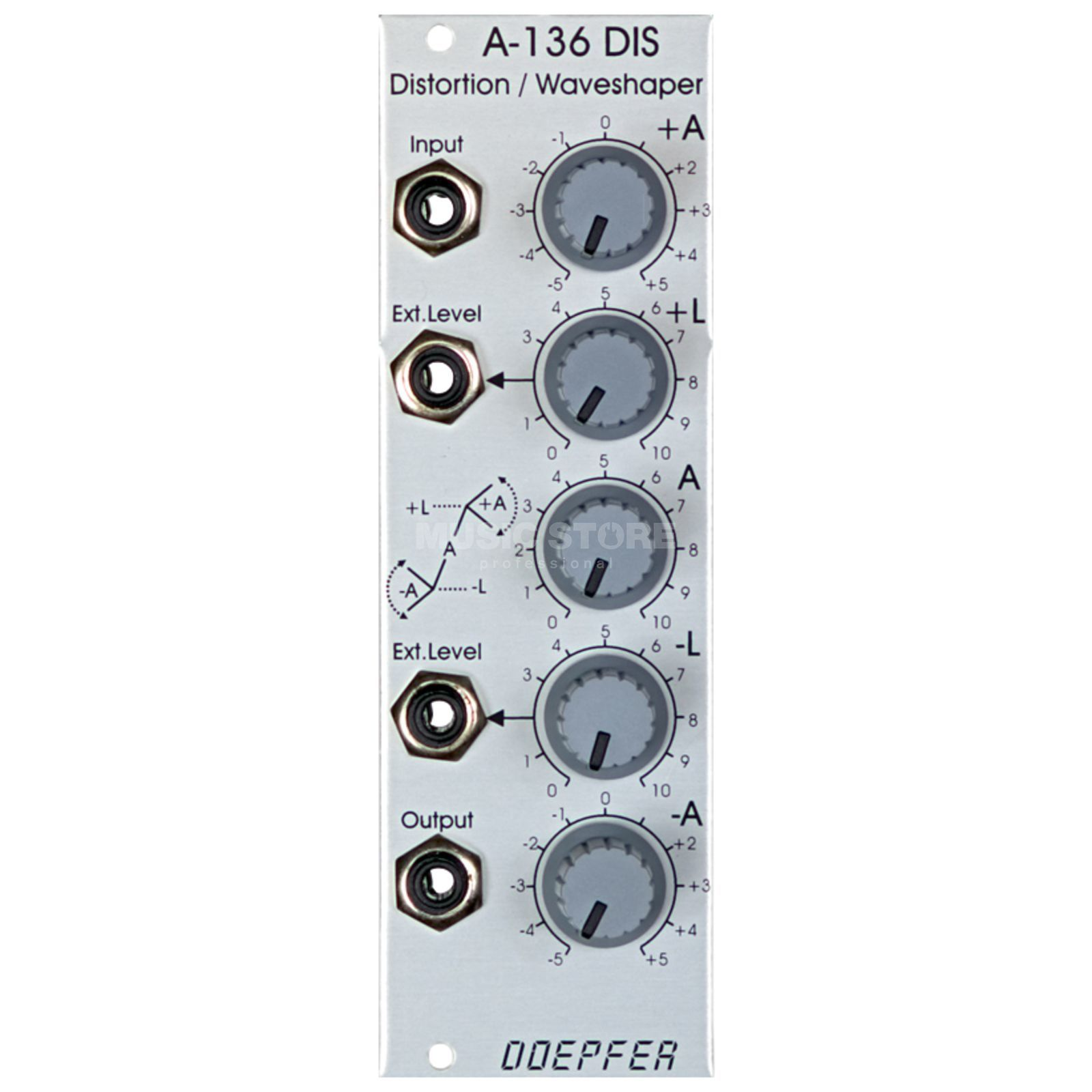 Doepfer A-136 Distortion / Waveshaper Produktbillede