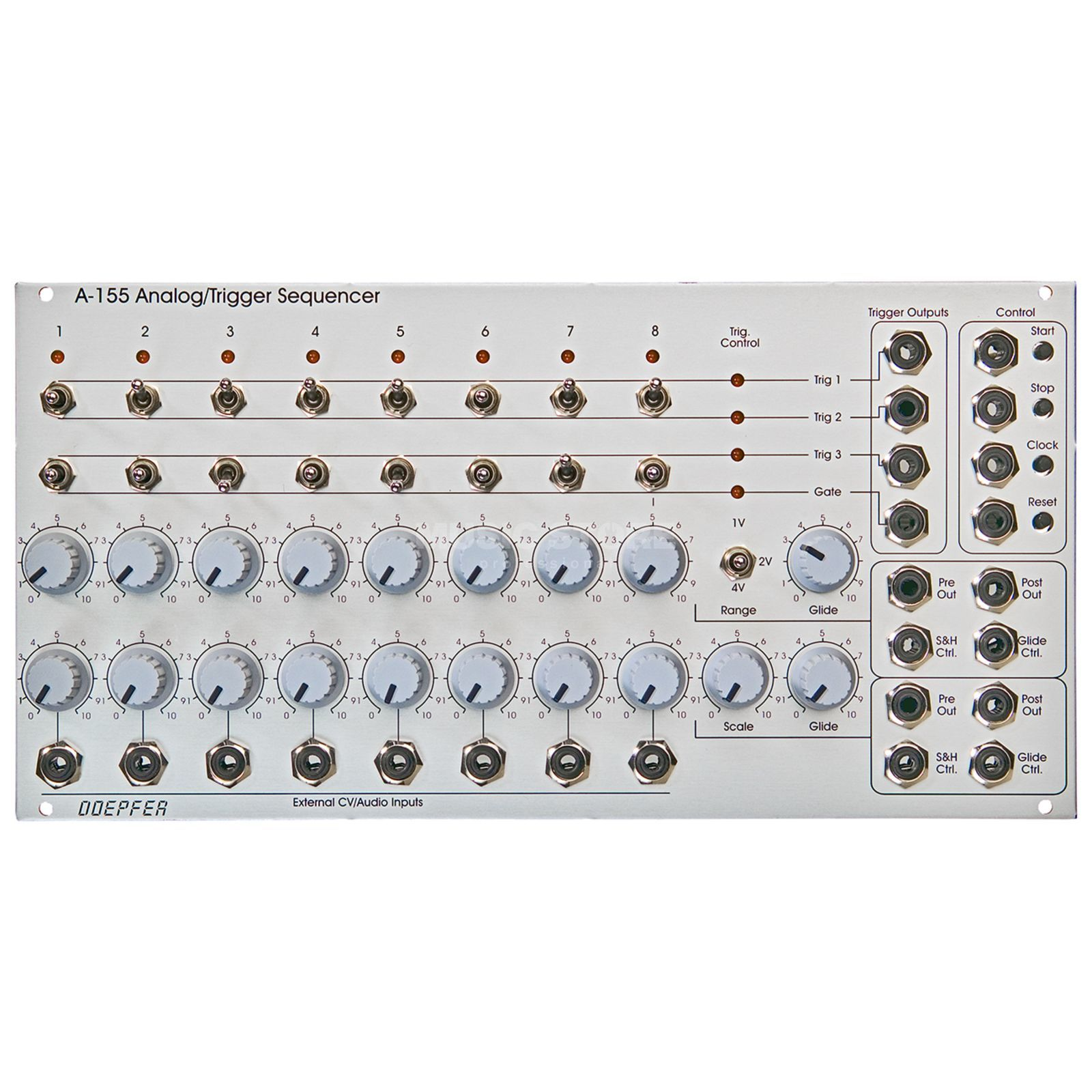 Doepfer A-155 Analog / Trigger Sequencer Produktbild