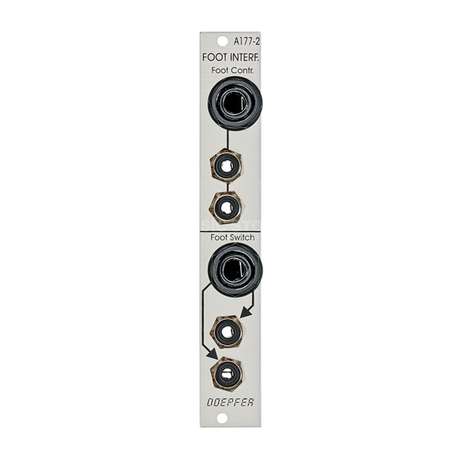 Doepfer A-177-2 Connection module for floorboards and pedals Produktbillede