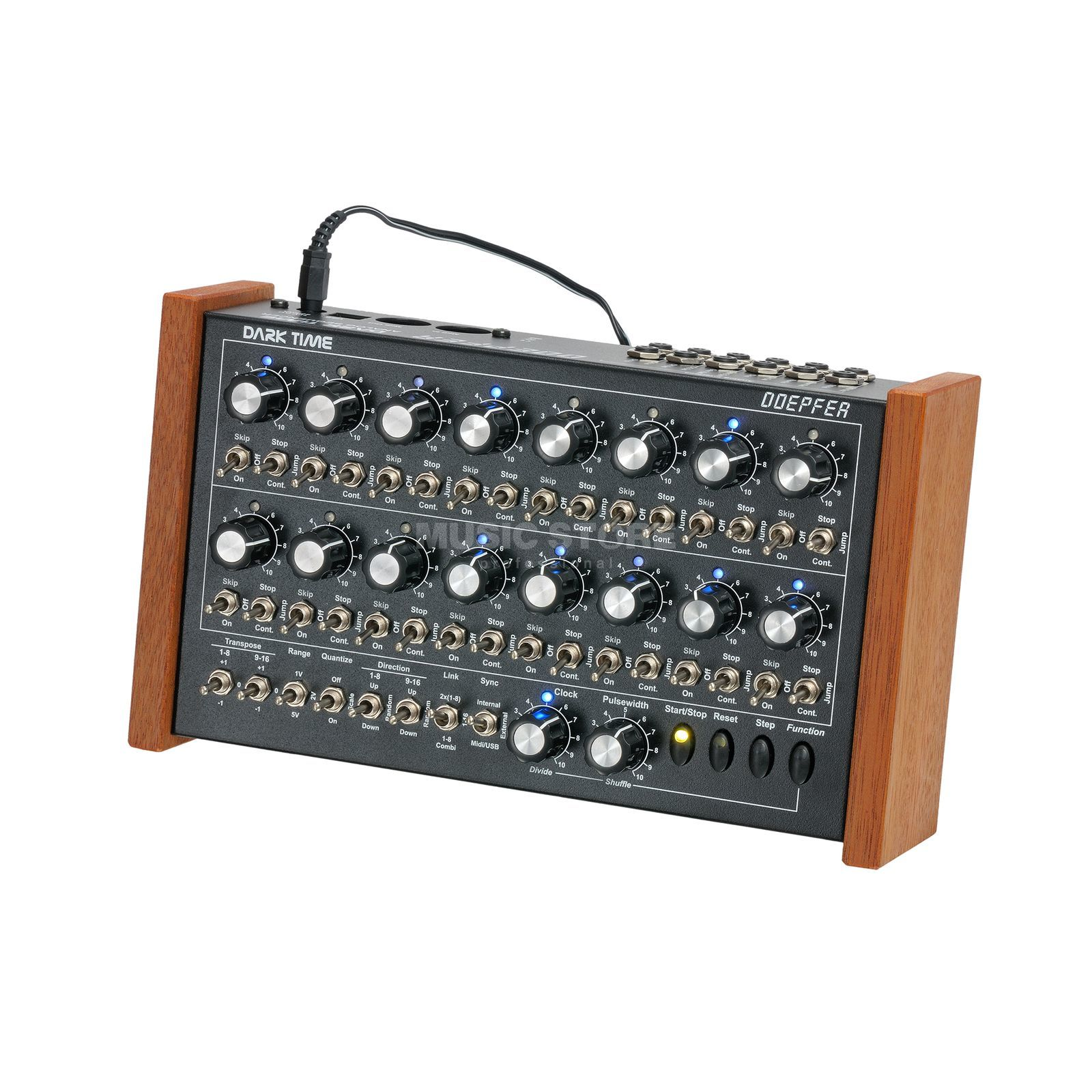 Doepfer Dark Time Analog Sequencer Blue LED's Produktbillede