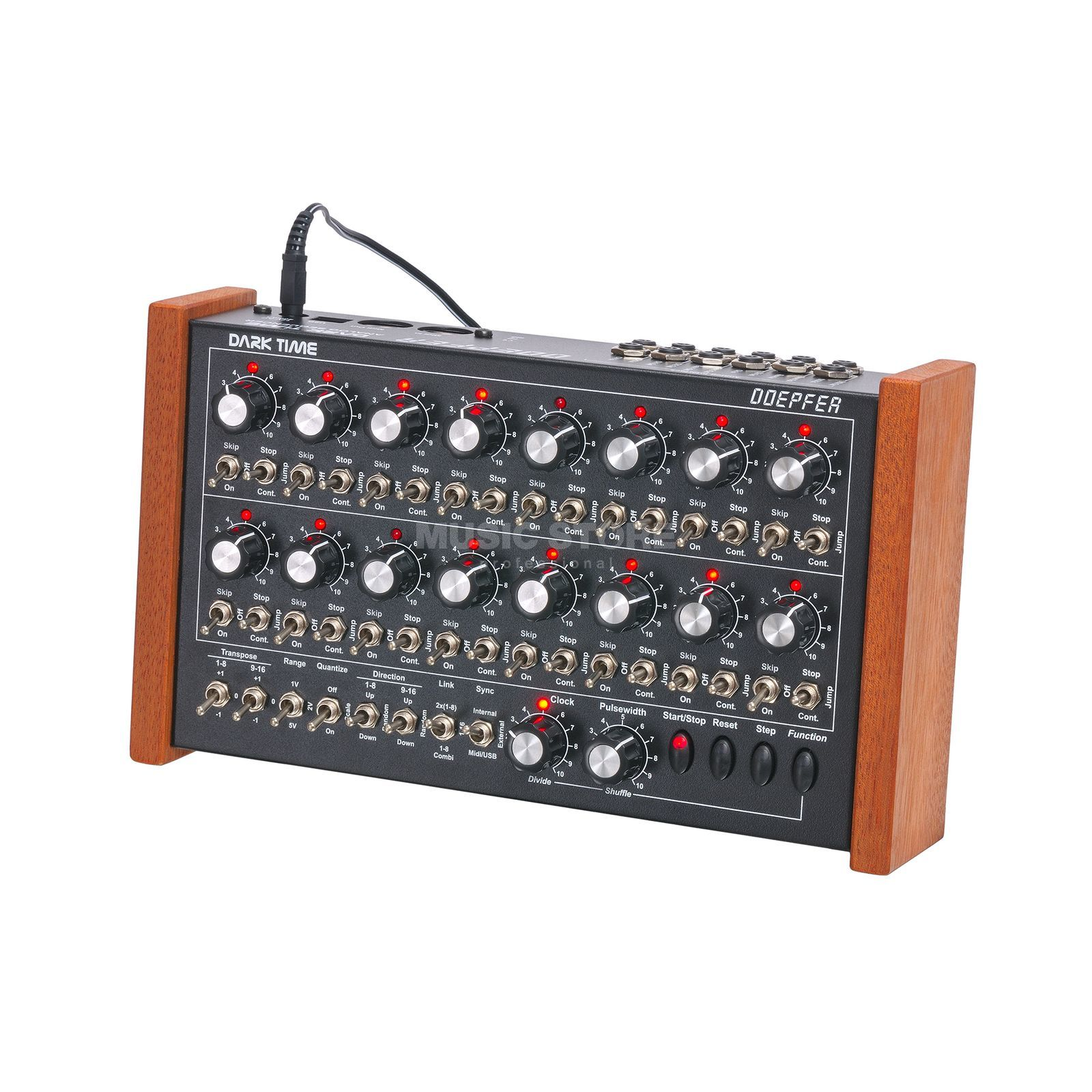 Doepfer Dark Time Analog Sequencer Red LED's Produktbillede