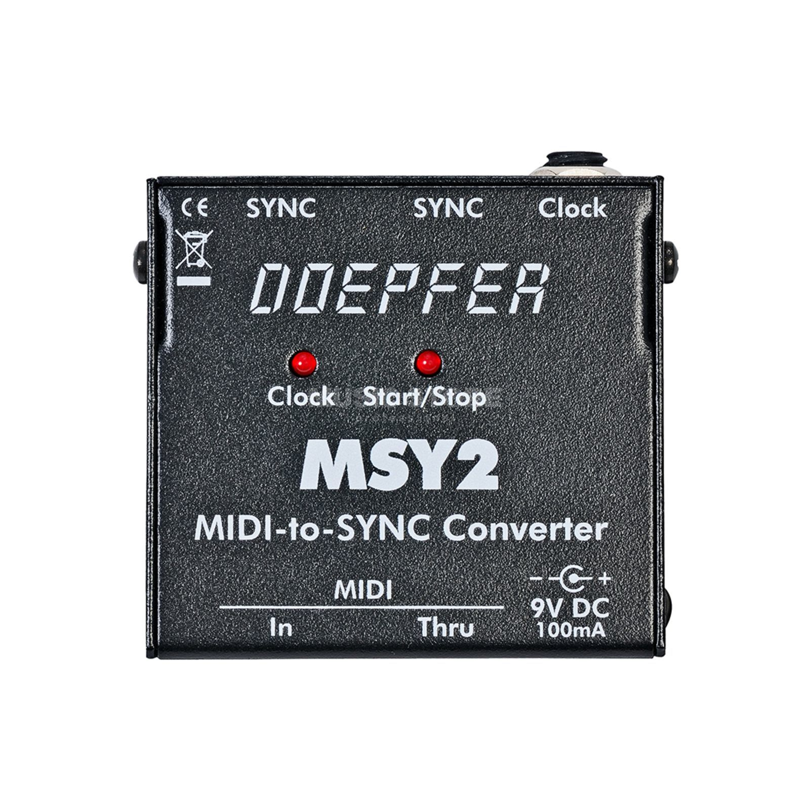 Doepfer MSY 2 Midi to Sync Interface  Produktbillede