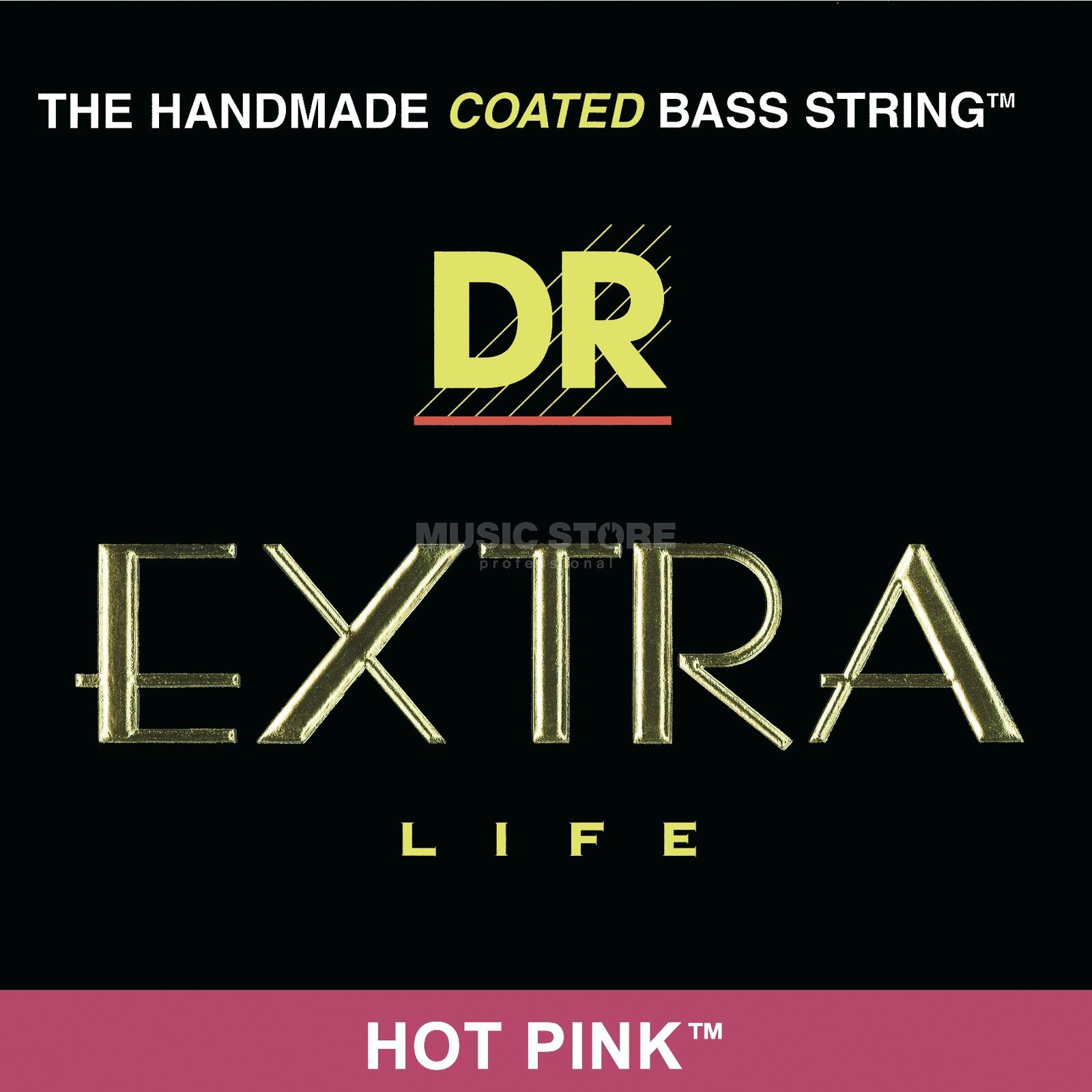 DR 4er bas 45-105 Extra-Life Hot Pink PKB-45 Productafbeelding