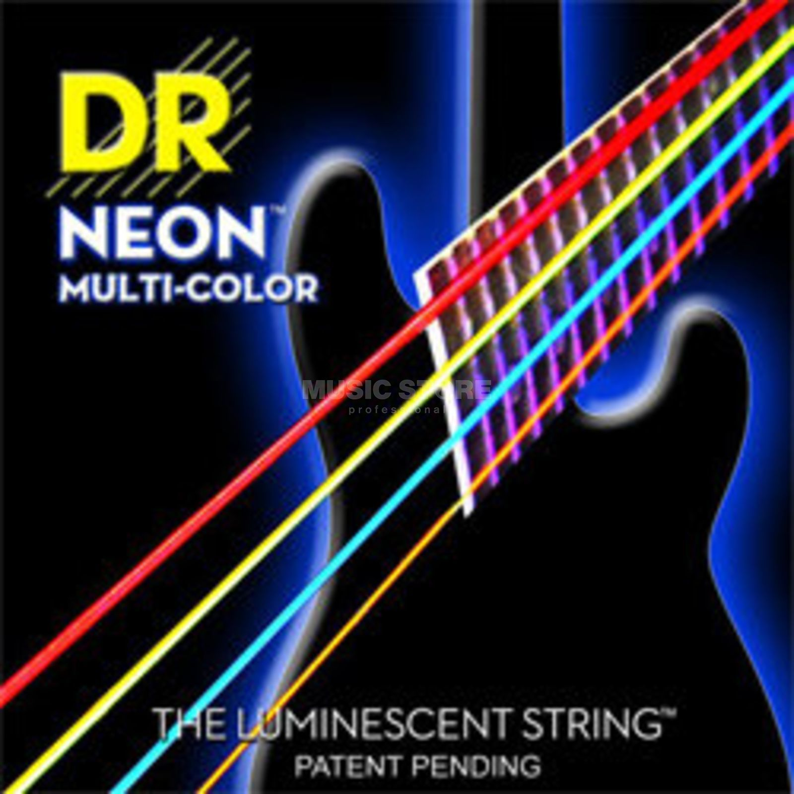 DR 6er Bass 45-125 Hi-Def Neon Multi Color Neon NWB5-45 Изображение товара