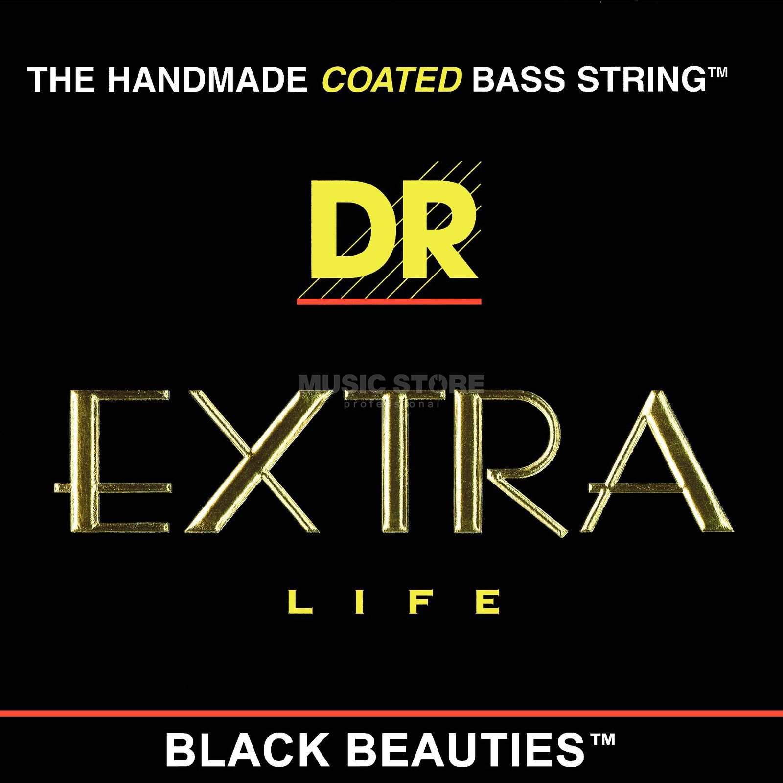 DR Bass Strings Set of 4: 50-110 Extra-Life Black Beauties BKBT-50 Immagine prodotto