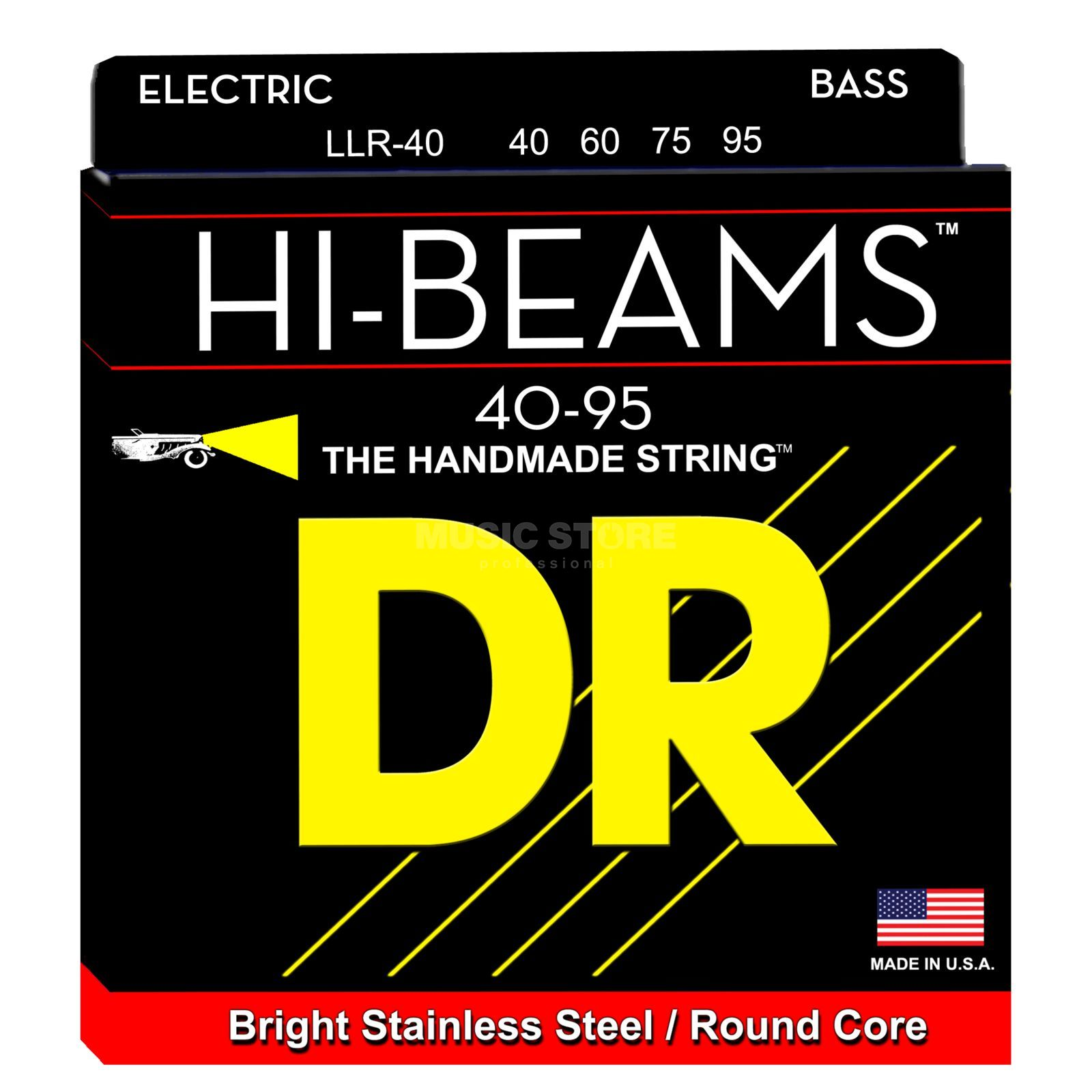 DR E-Bass 4er High Beam 040 - 095 Tite Light Long Scale Produktbillede