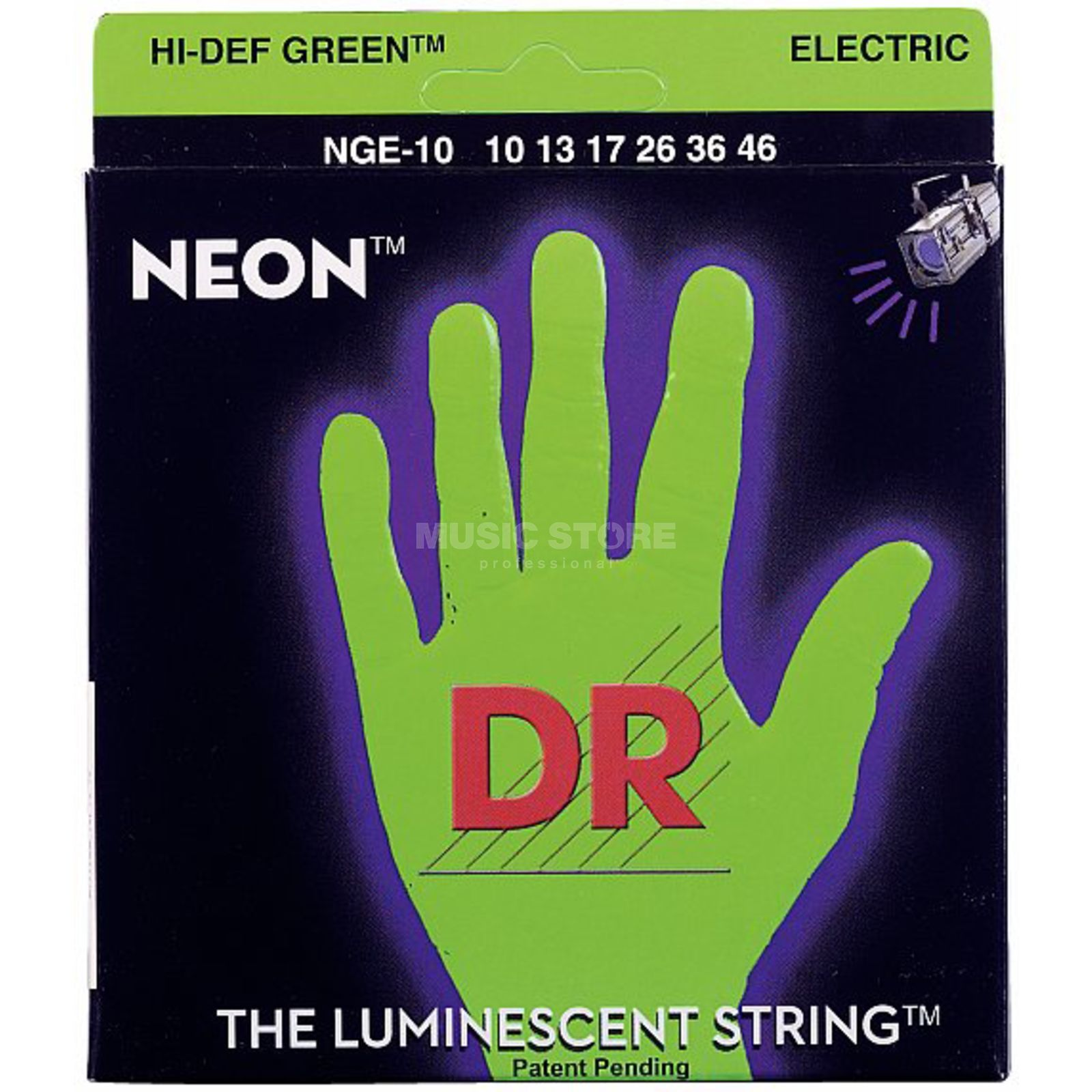 DR NGE-10 10-46 HiDef Neon Green  Product Image