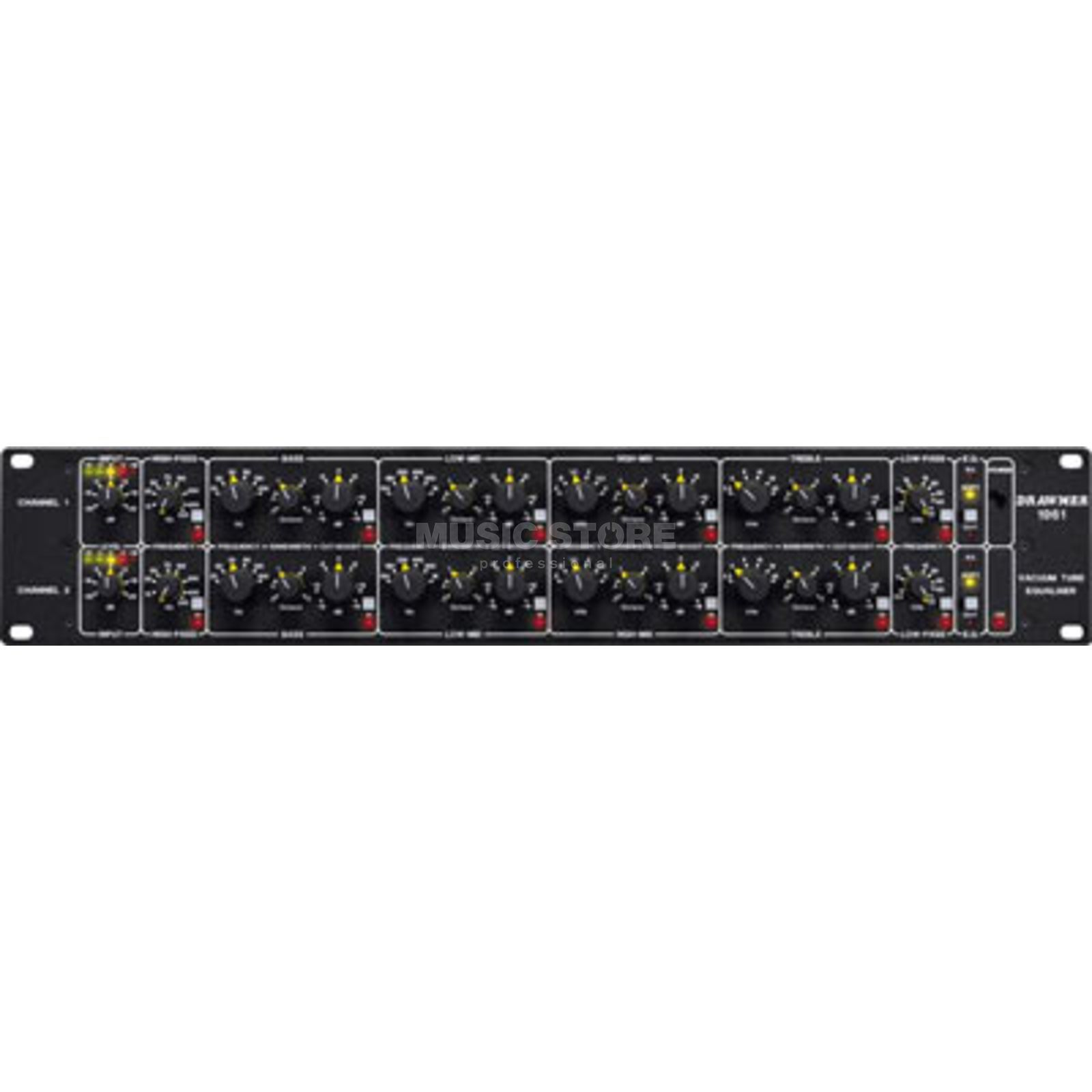 Drawmer 1961 2 Channel 4 Band Tube EQ Produktbild