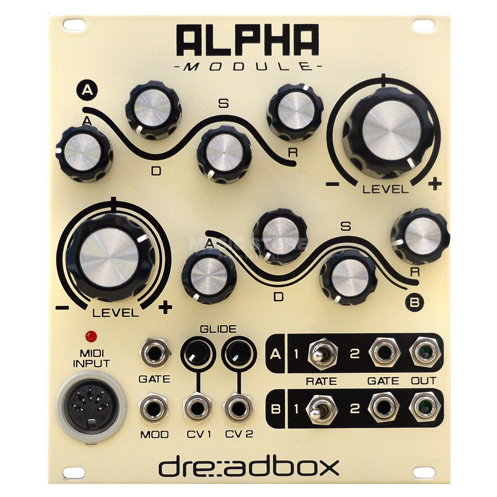 Dreadbox Alpha Envelope & MIDI Interface Produktbillede