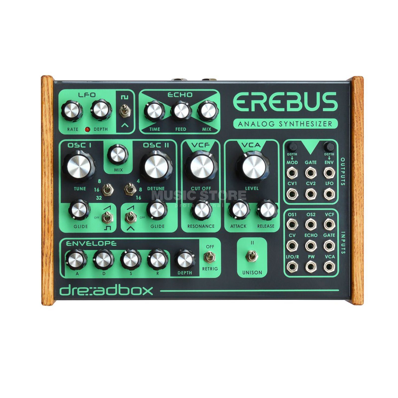 Dreadbox EREBUS Analogue paraphonic synth Produktbillede