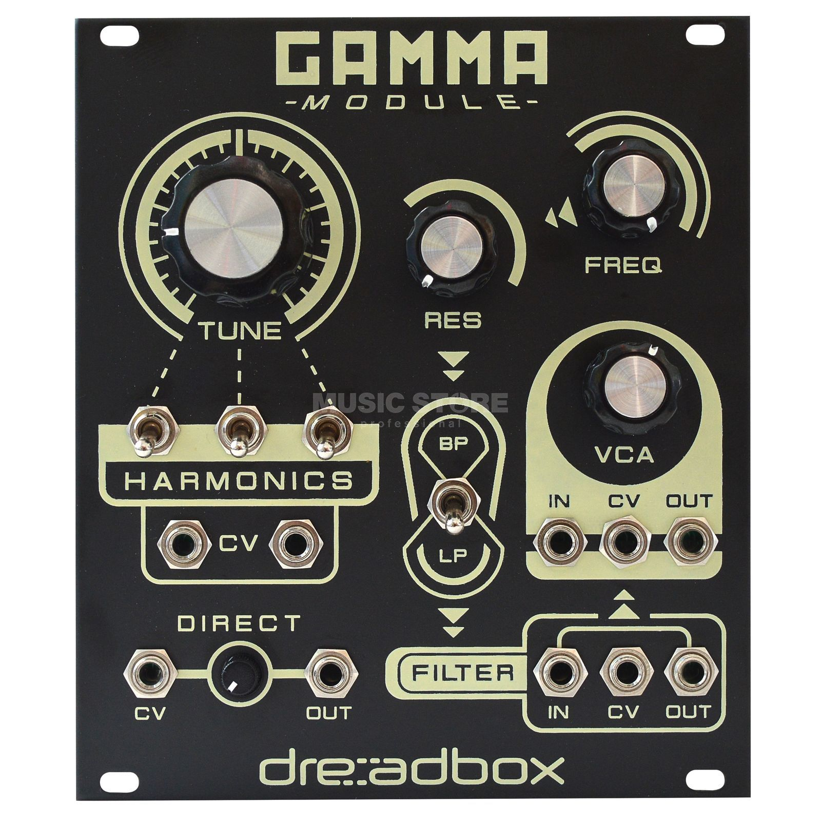Dreadbox Gamma Synth voice Produktbild