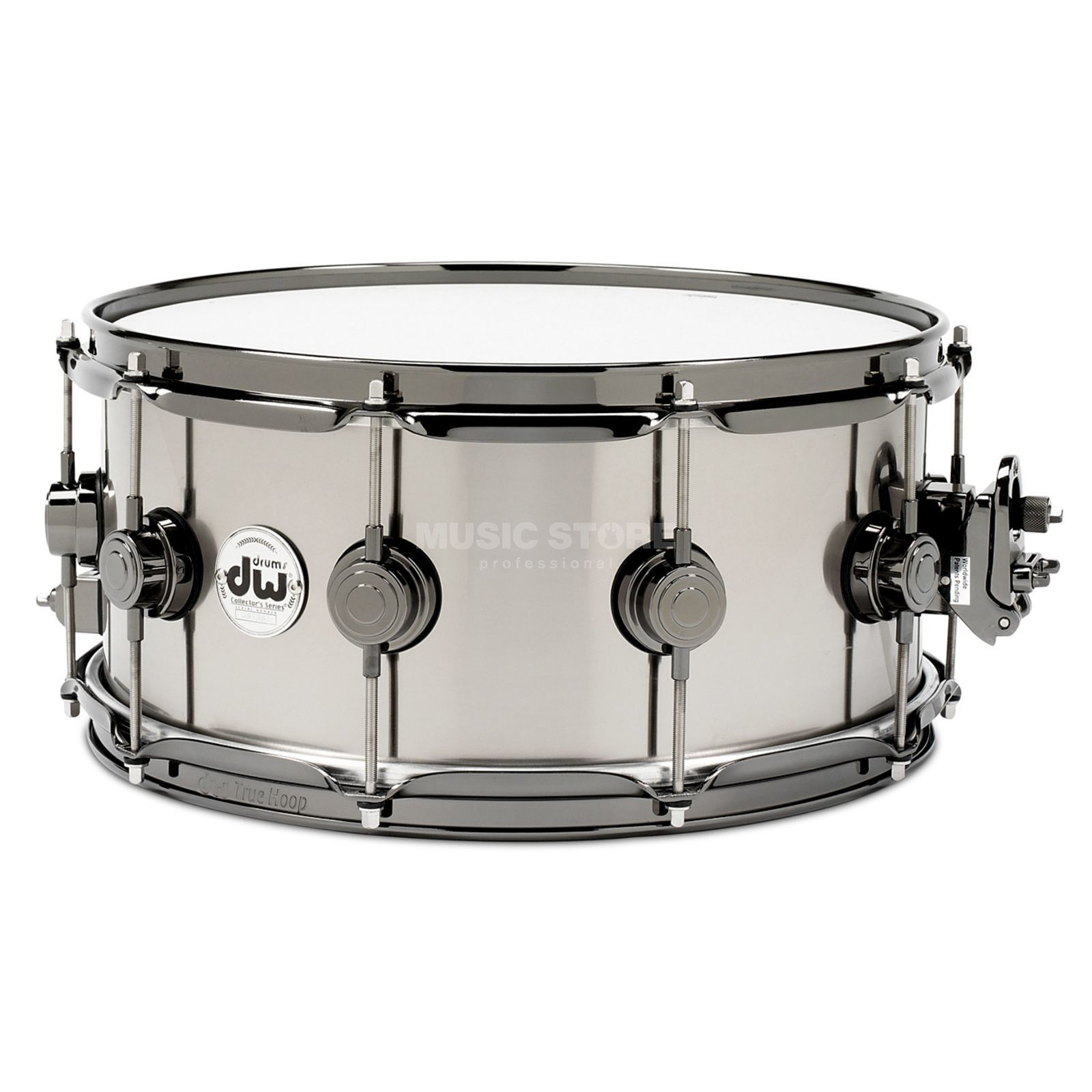"Drum Workshop Collector´s Snare 14""x6.5"", Titanium Black Nickel Produktbillede"