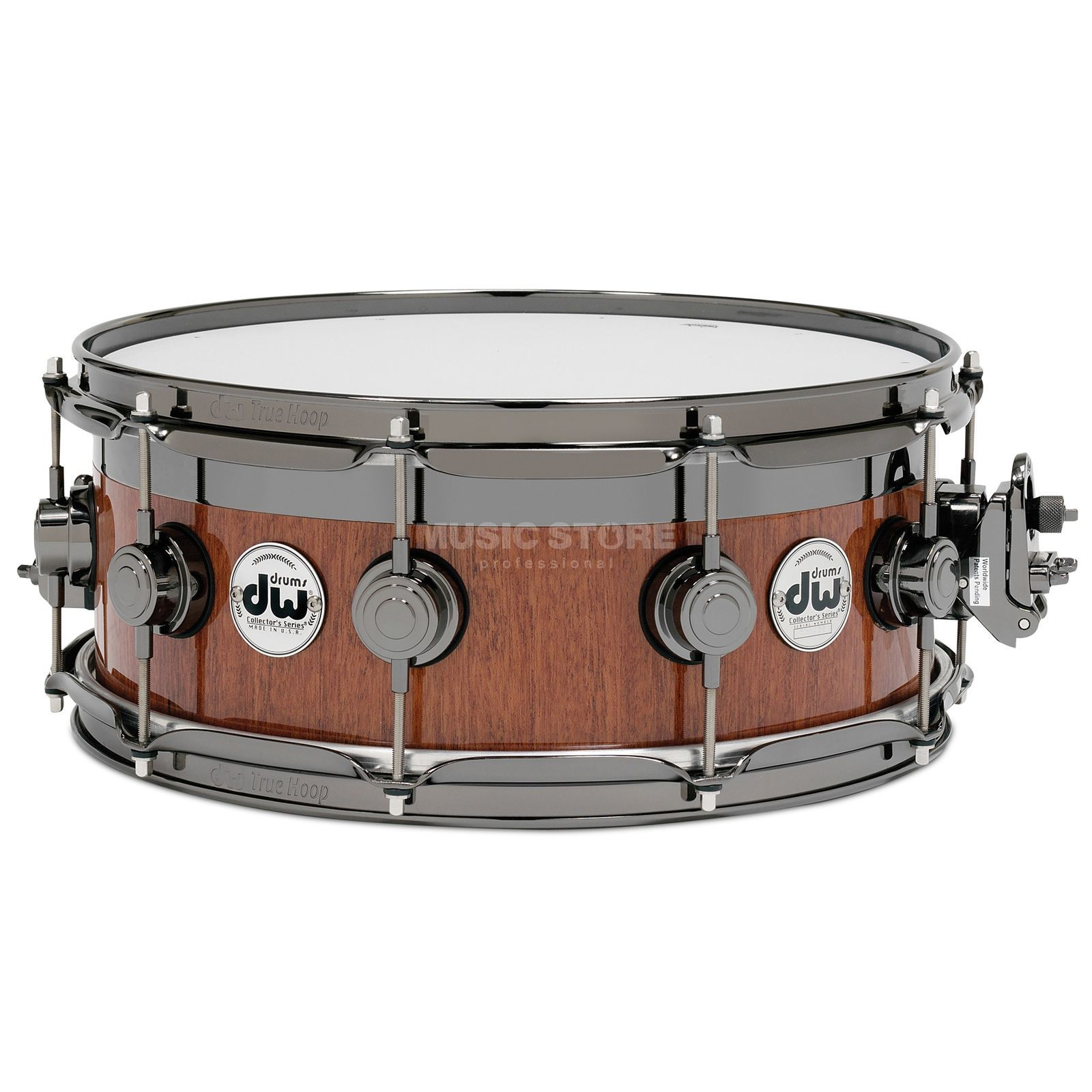 "Drum Workshop Collector Snare 14""x6"", Mahogany, Top Edge VLT Maple Produktbild"