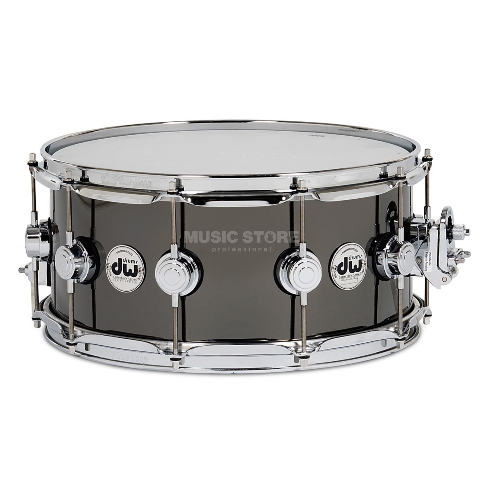 Drum Workshop Collector Snare 14x5,5 Snare Black Nickel over Brass Produktbild
