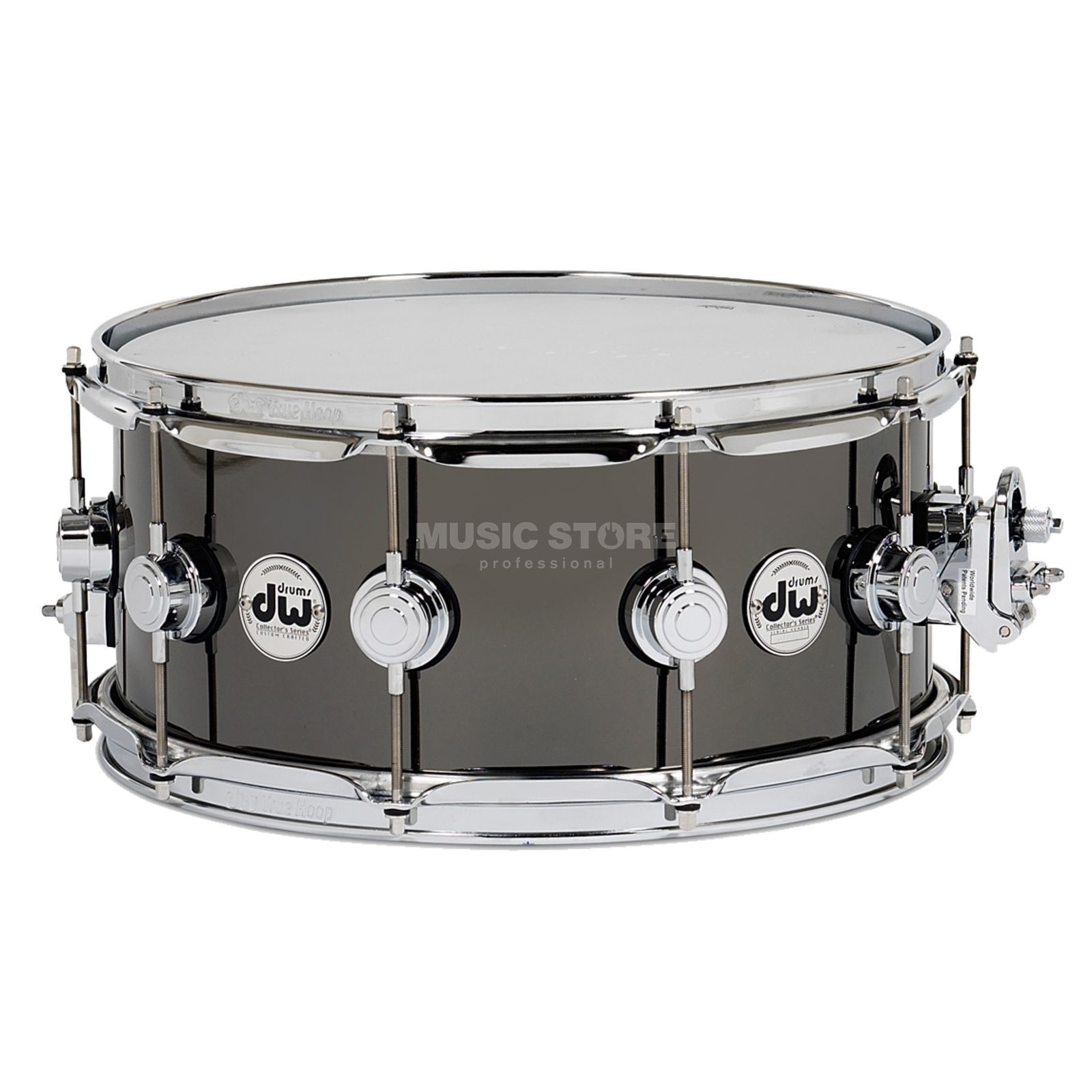 Drum Workshop Collector Snare 14x6.5 Snare Black Nickel over Brass Produktbillede