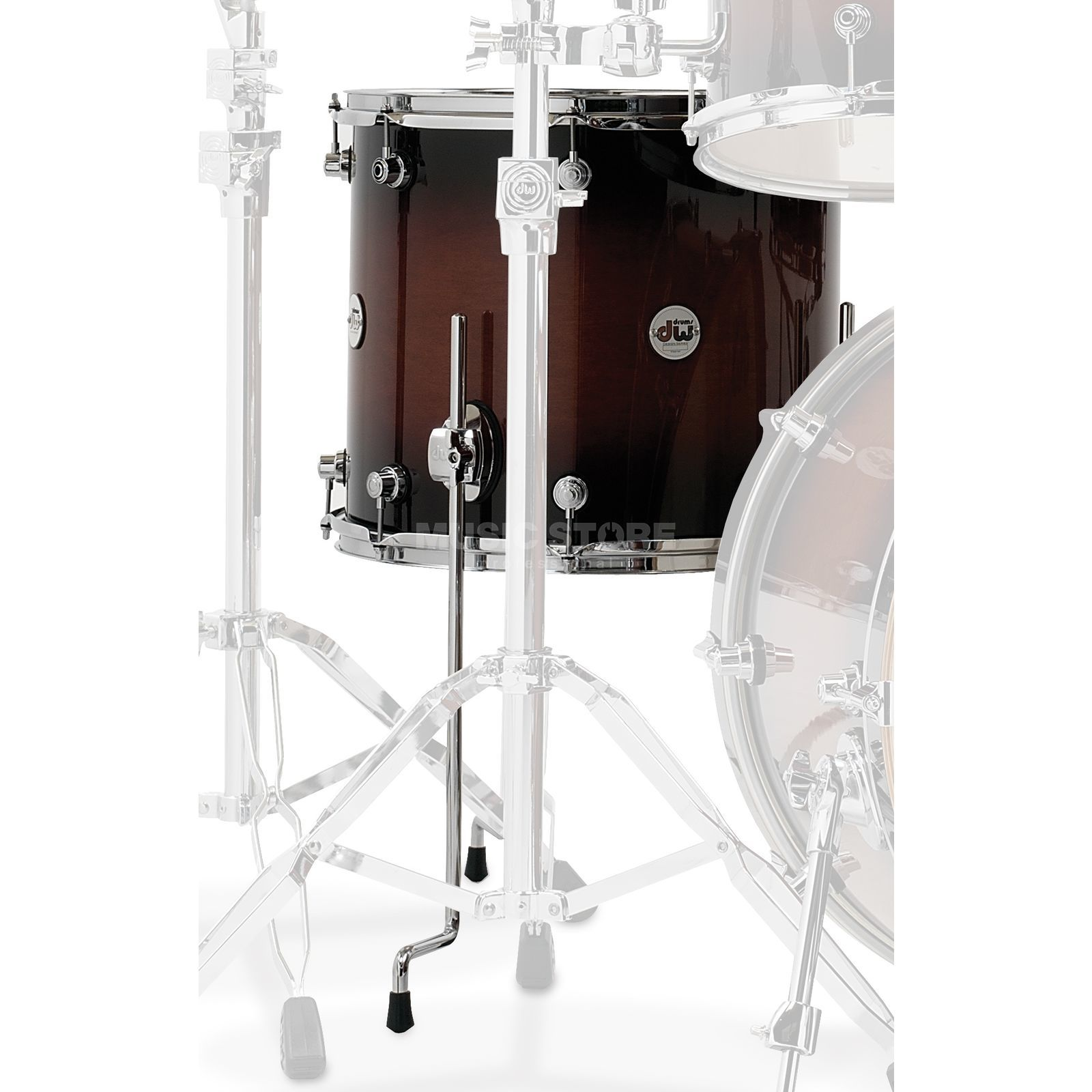 "Drum Workshop Design Floortom 14""x12"", Tobacco Burst Produktbillede"
