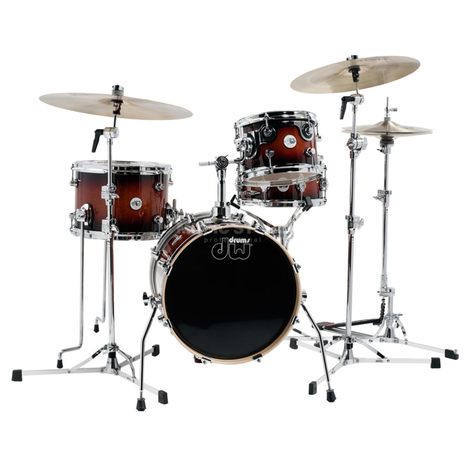 Drum Workshop Design Minipro, Tobacco Burst Produktbillede