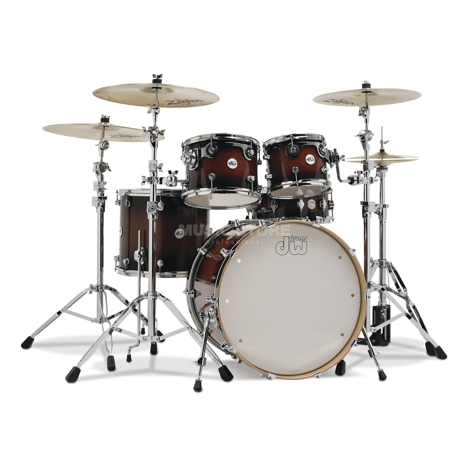 Drum Workshop Design ShellSet, Tobacco Burst Produktbild