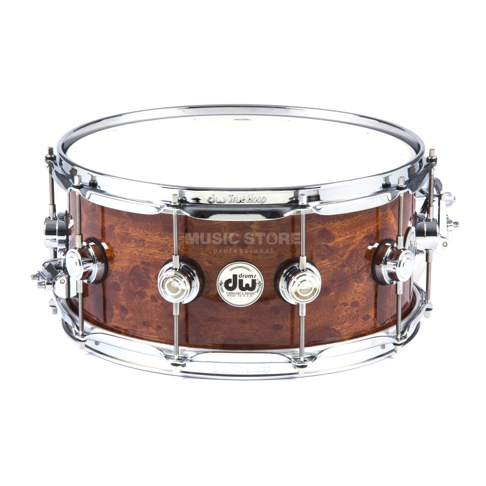 "Drum Workshop Exotic Snare 14""x6,5"" Sapeli Pommele Produktbild"